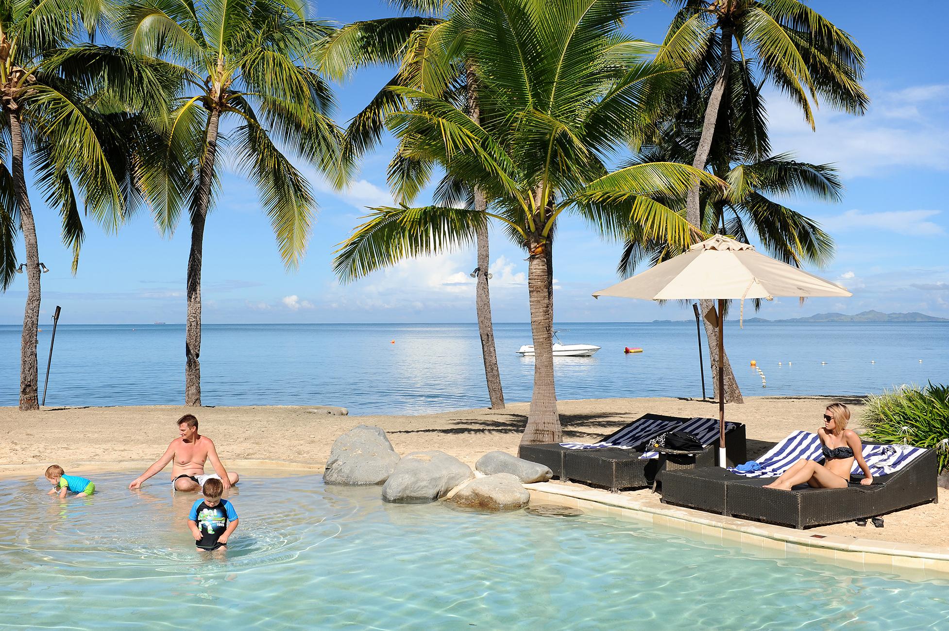 Uima-allas, Fidzi, meri, matkablogi, matka, perhematka