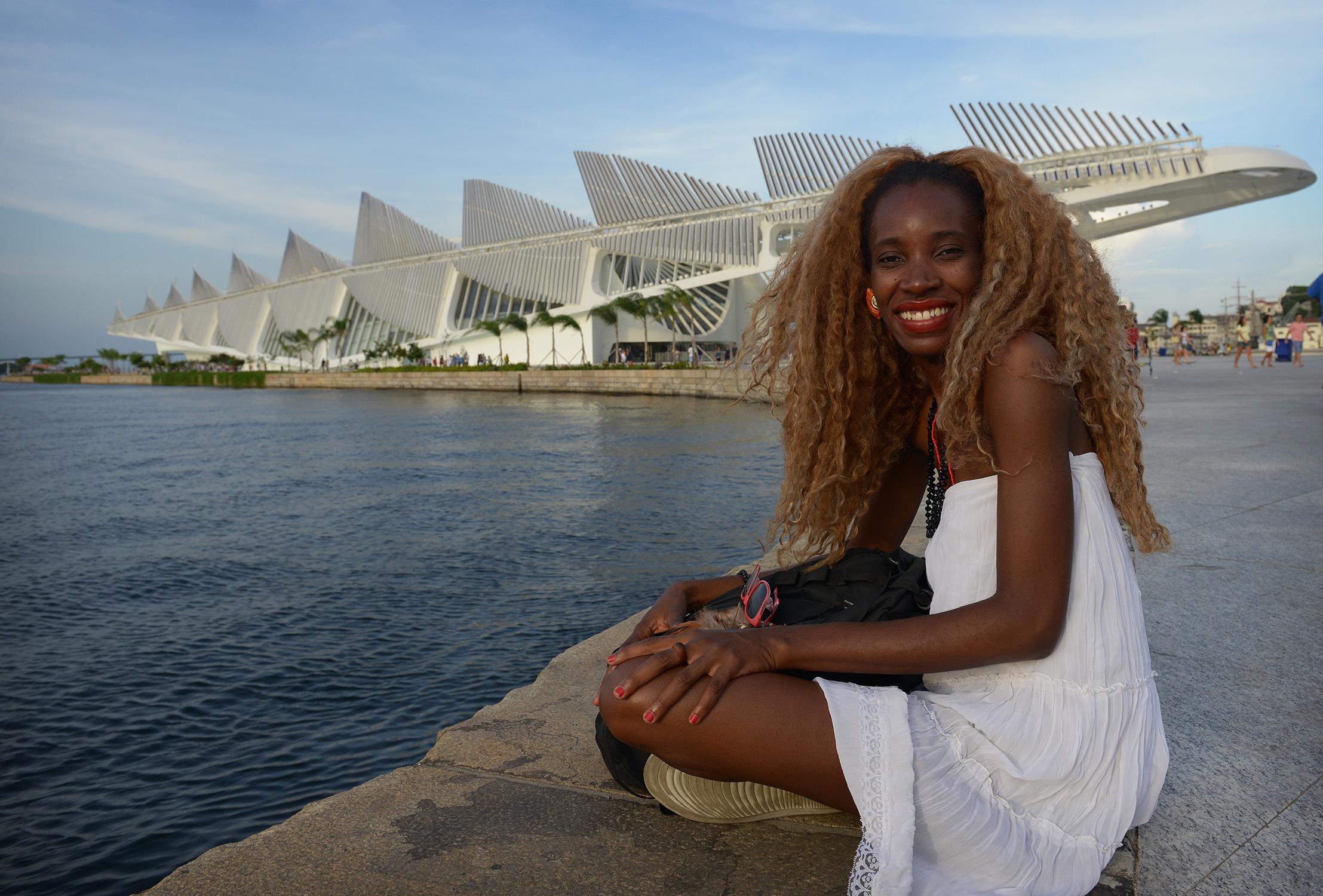 Brasilia, meri, nainen, matkablogi, rento, matka, Rio de Janeiro, museo, matkustaa
