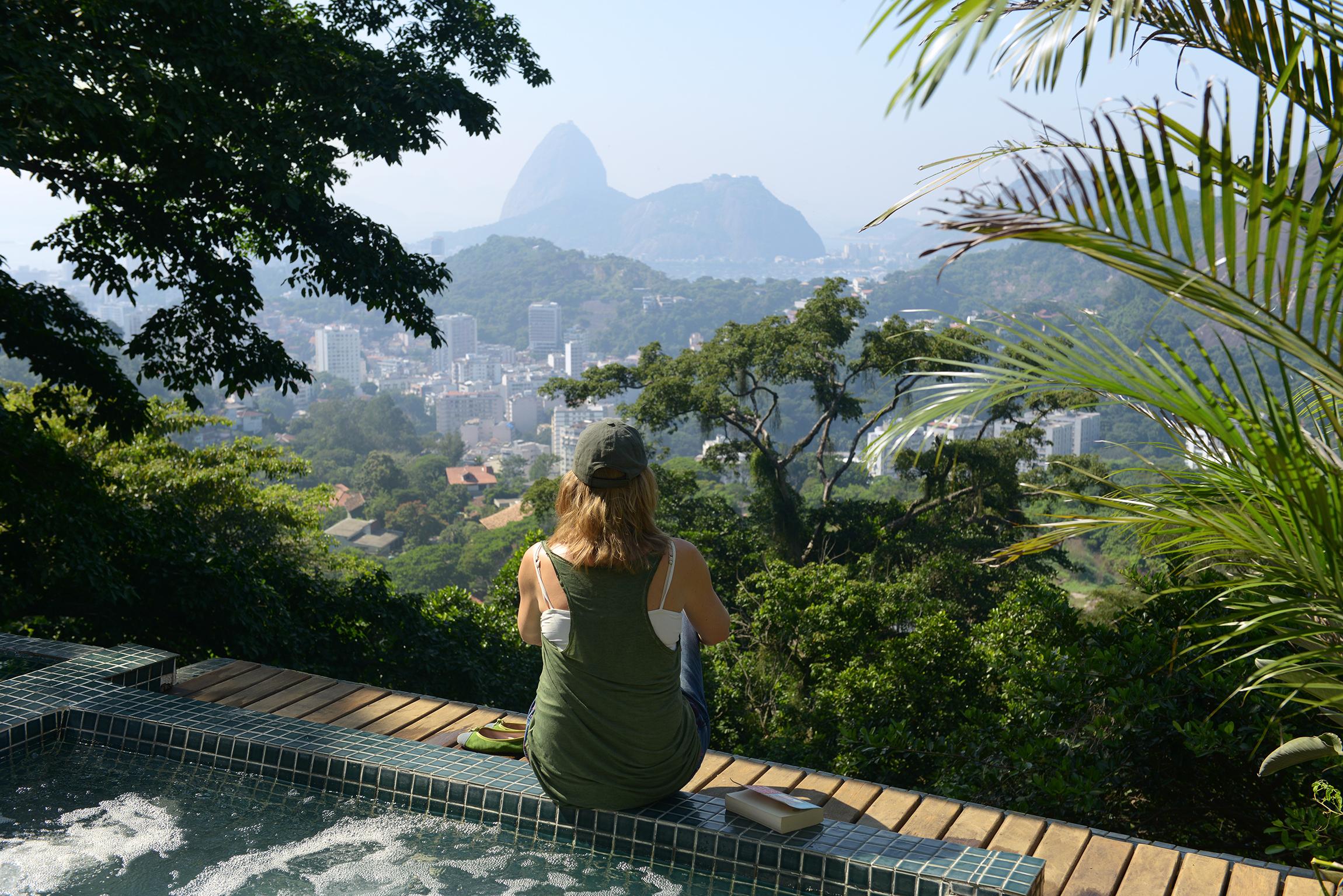 maisemat, Rio de Janeiro, Brasilia, uima-allas, hotelli, matka, matkablogi, tropiikki