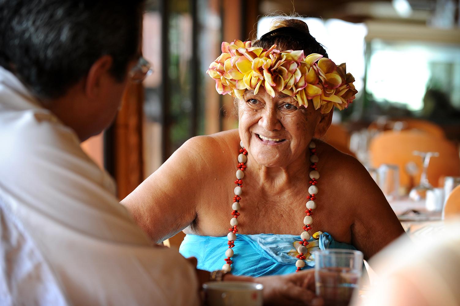 Kukka, Tyyni Valtameri, Tahiti, lei, matkablogi