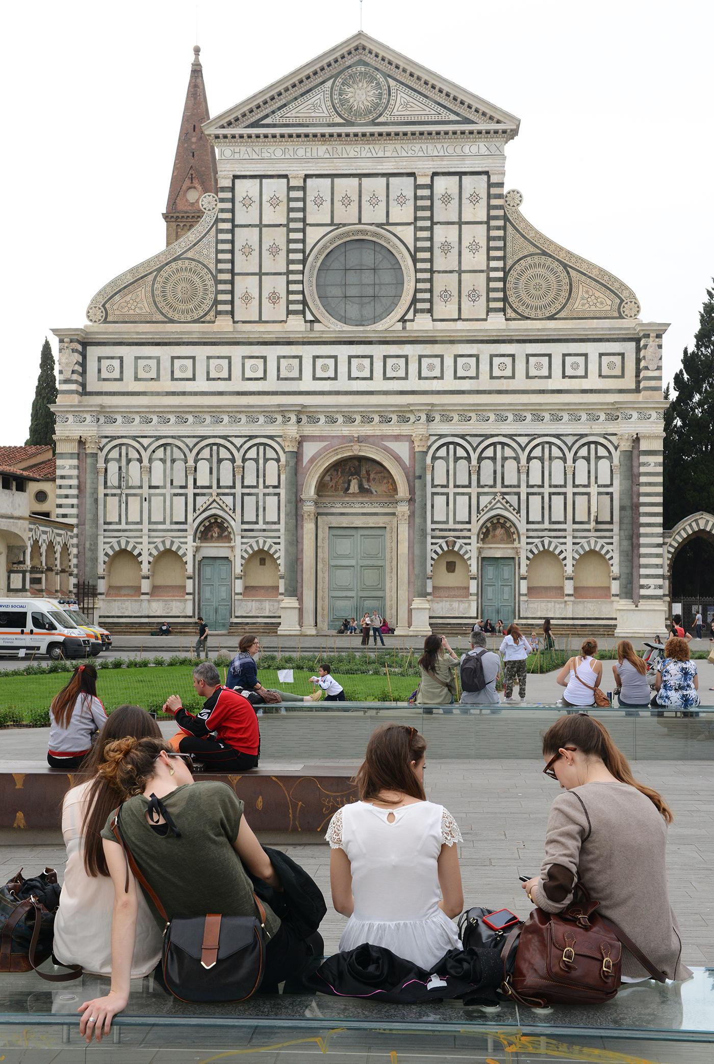 Turismi, turisti, matka, matkablogi, matka, Italia, Firenze, kirkko, aukio