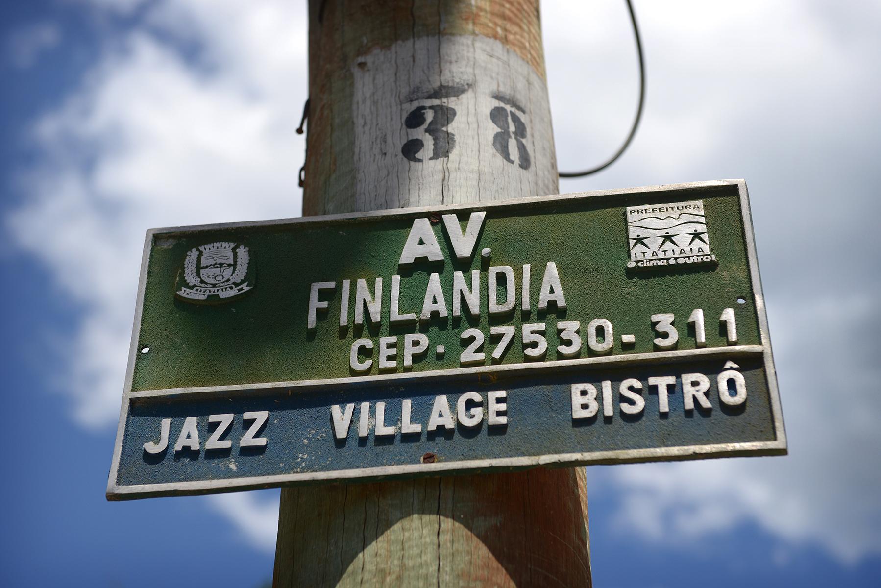 Brasilia, Penedo, suomikylä, Pikku-Suomi, turistikylä, ulkosuomalaisuus, matka, matkablogi, reissu, matkailu, katukyltti