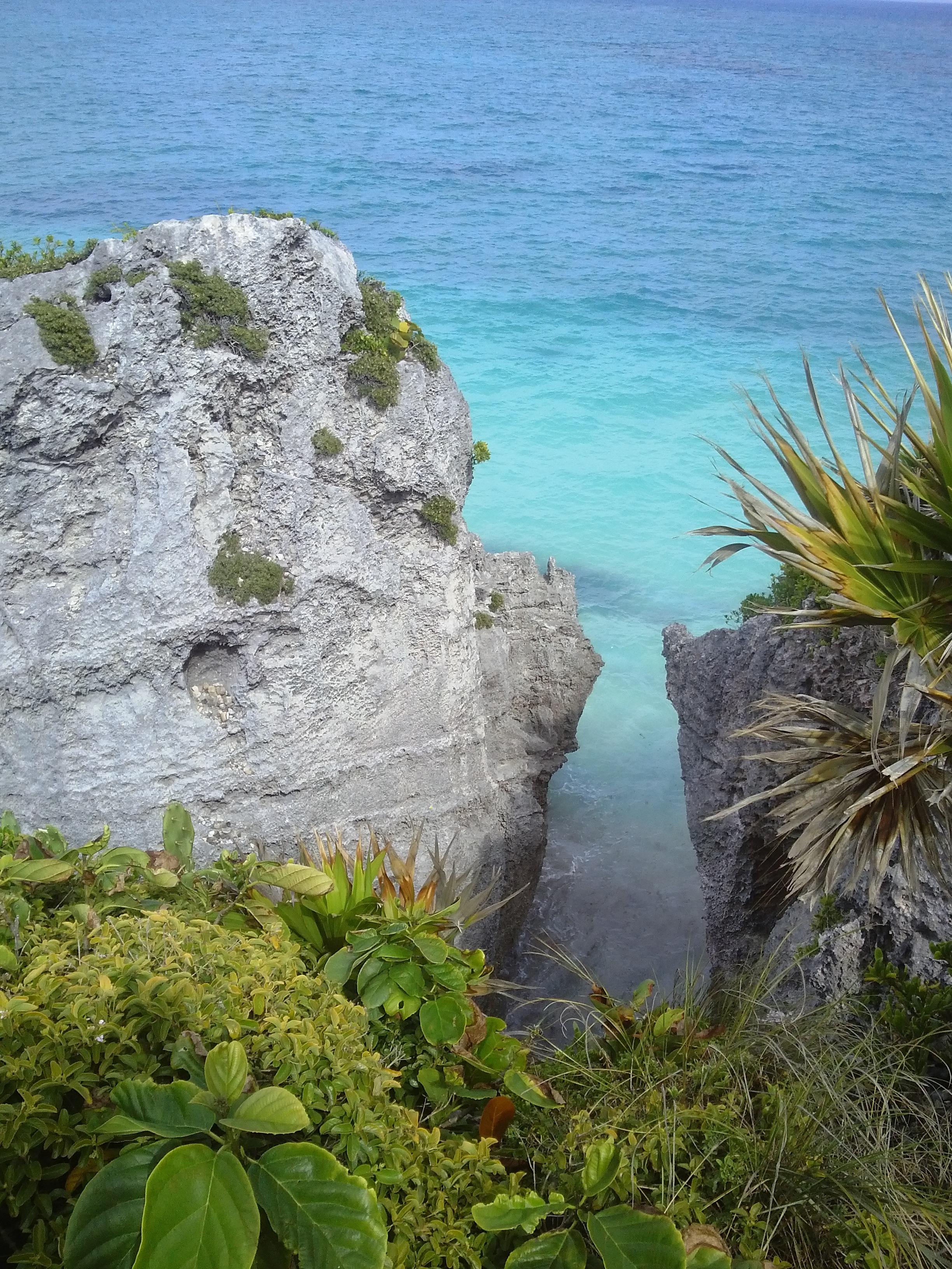 Tulum, Meksiko, matkablogi, blogi, meri, sininen, palmu