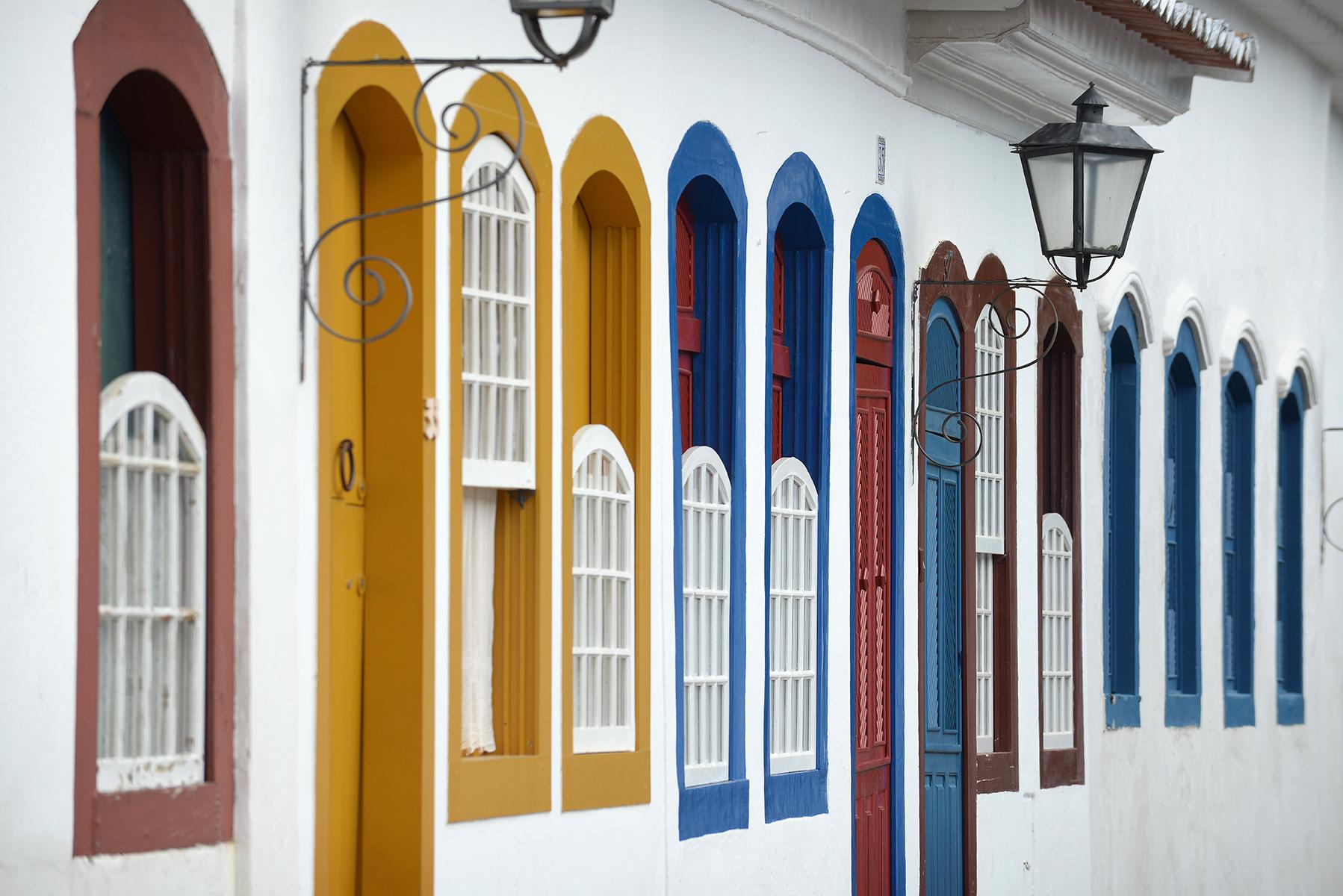 matkablogi, blogi, Brasilia, Paraty, värikäs, ikkuna