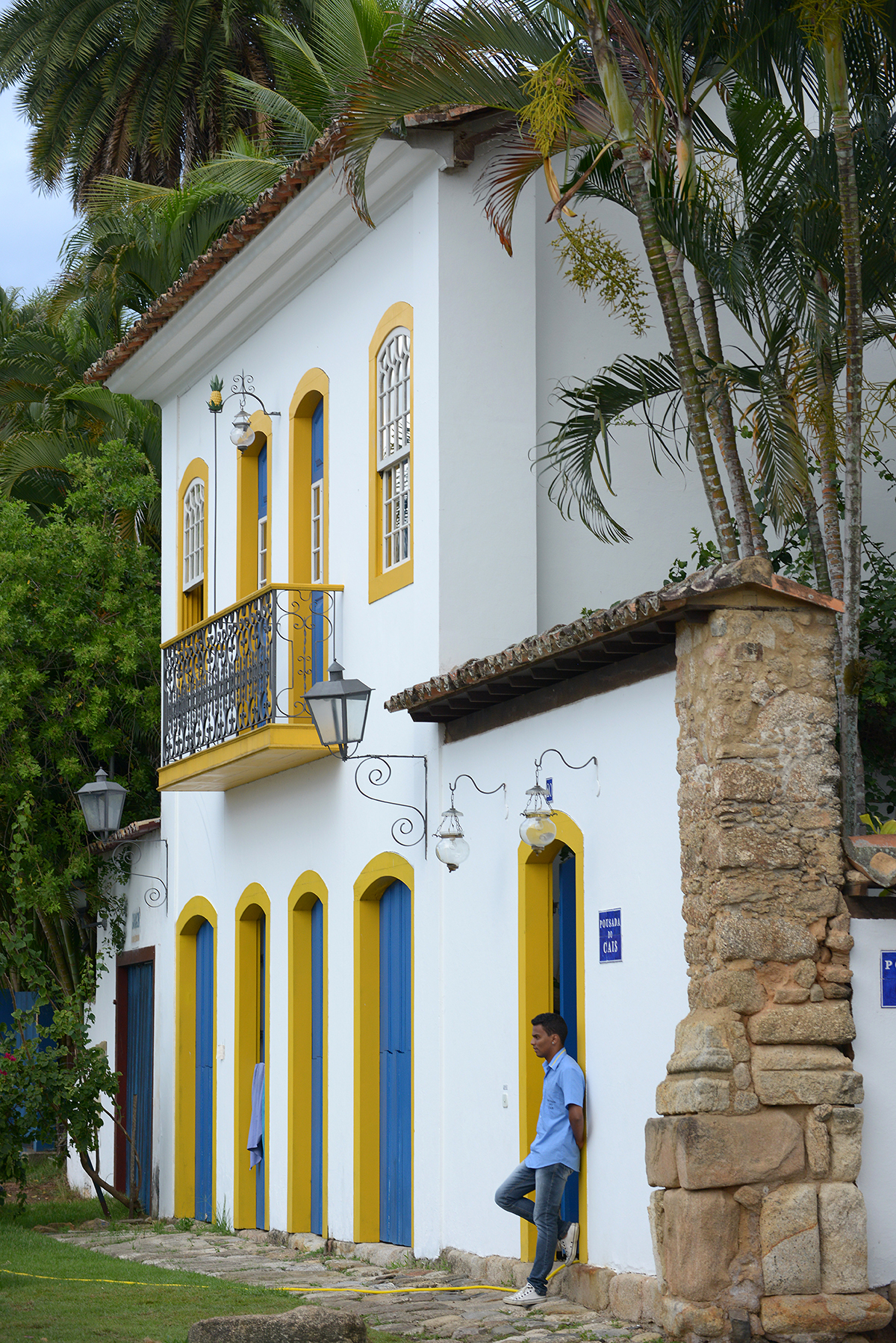 matkablogi, blogi, Brasilia, Paraty, värikäs, talo