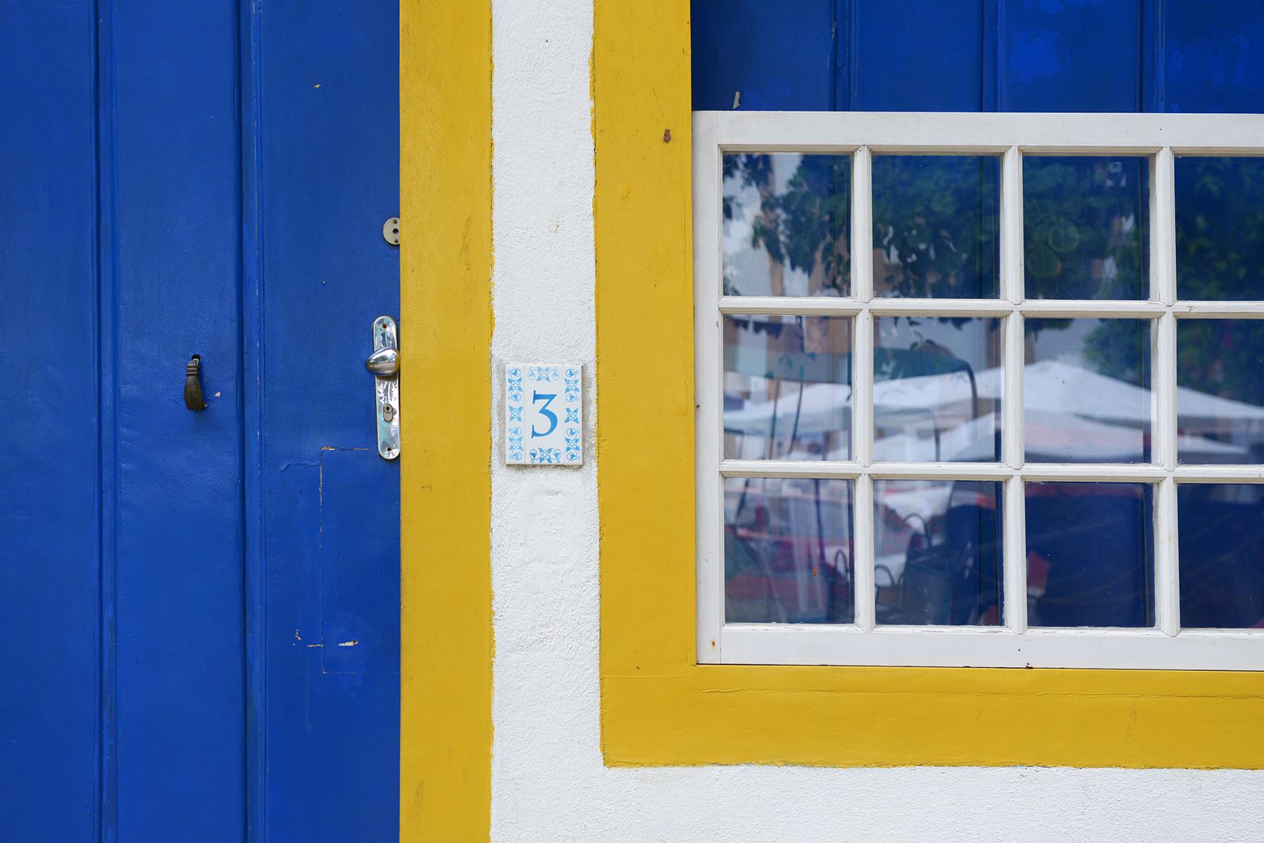 matkablogi, blogi, Brasilia, Paraty, värikäs, ikkuna, ovi