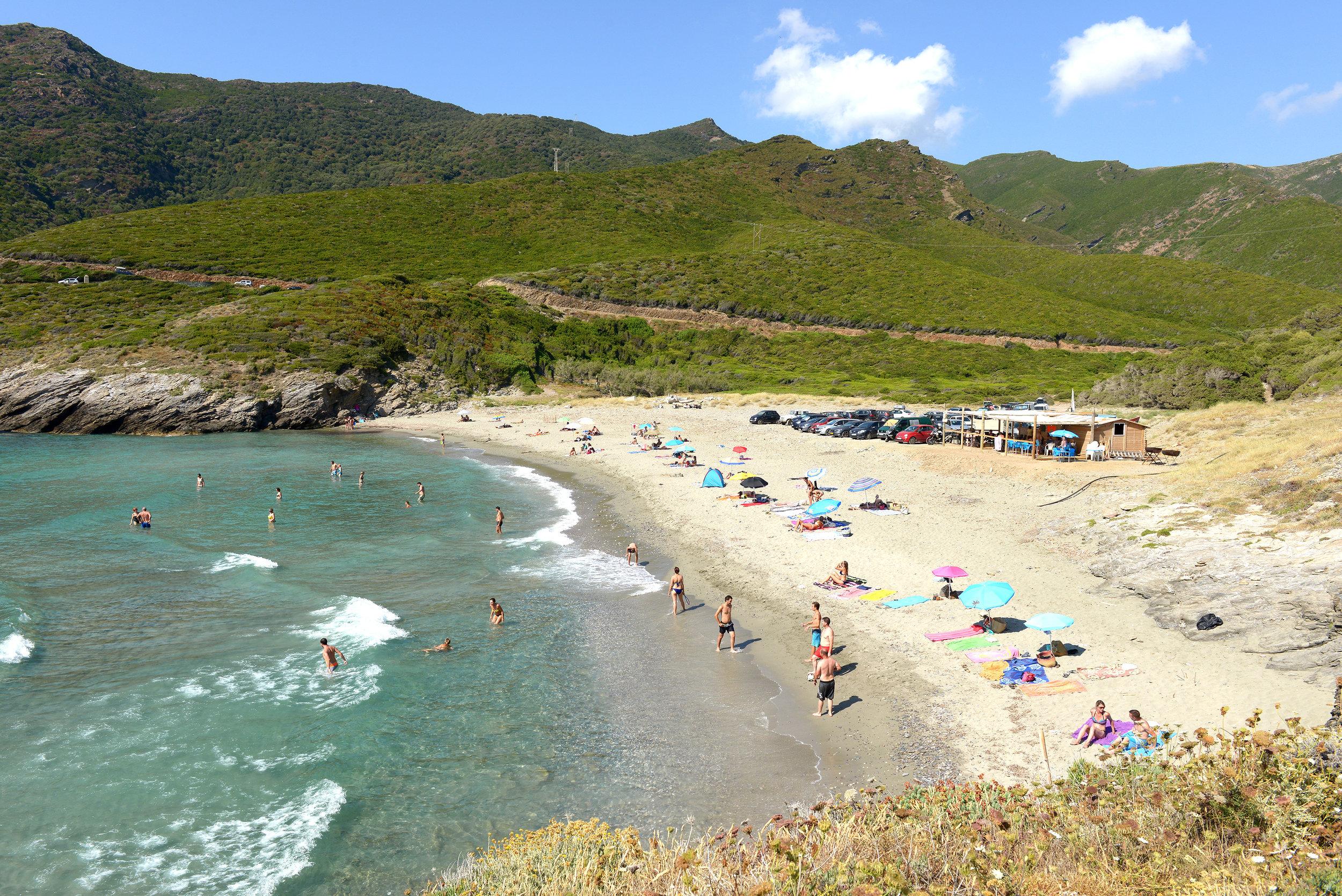 Ranta, Korsika, Ranska, Välimeri, matka, matkablogi