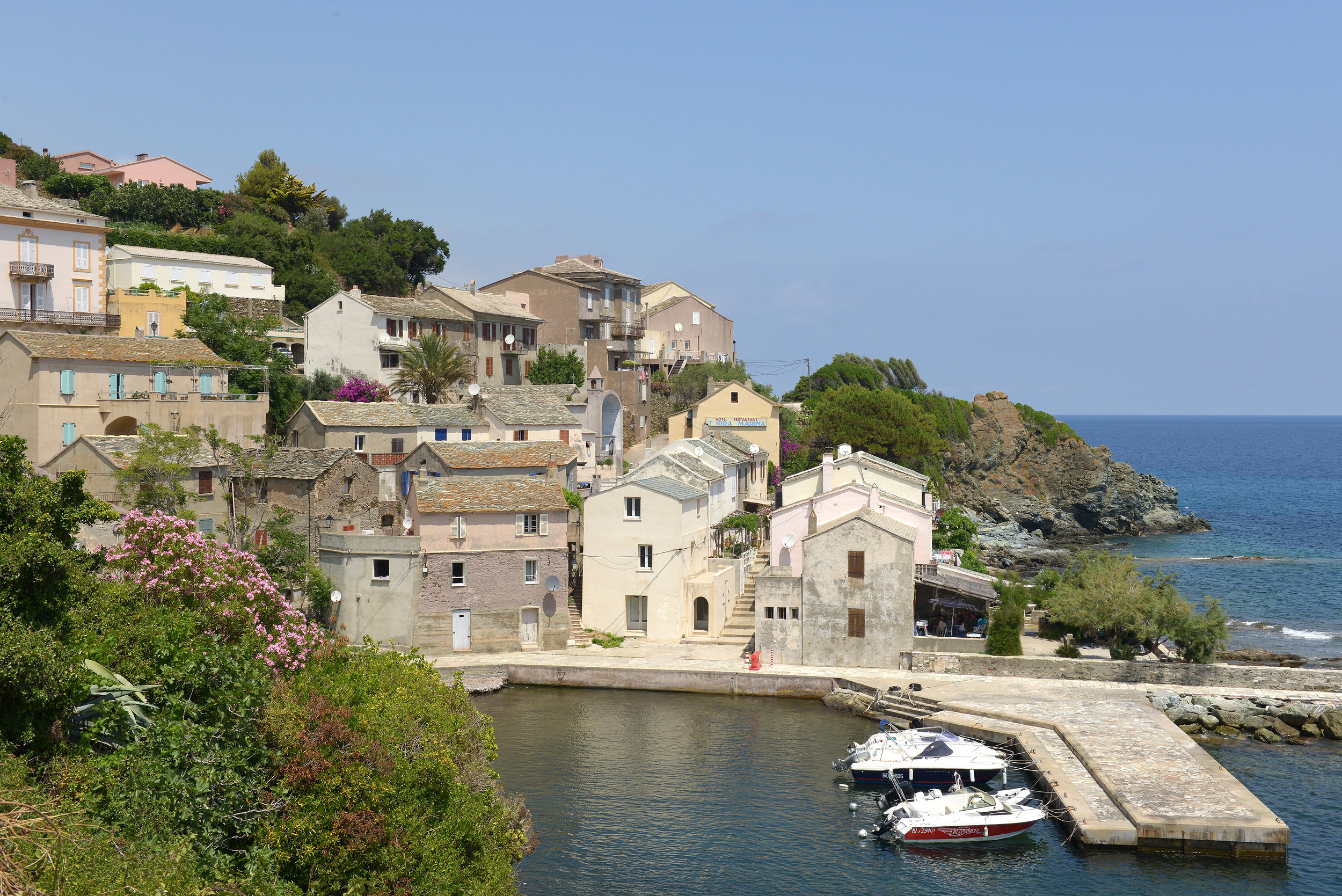Ranska, Korsika, kylä, loma, matka, matkablogi