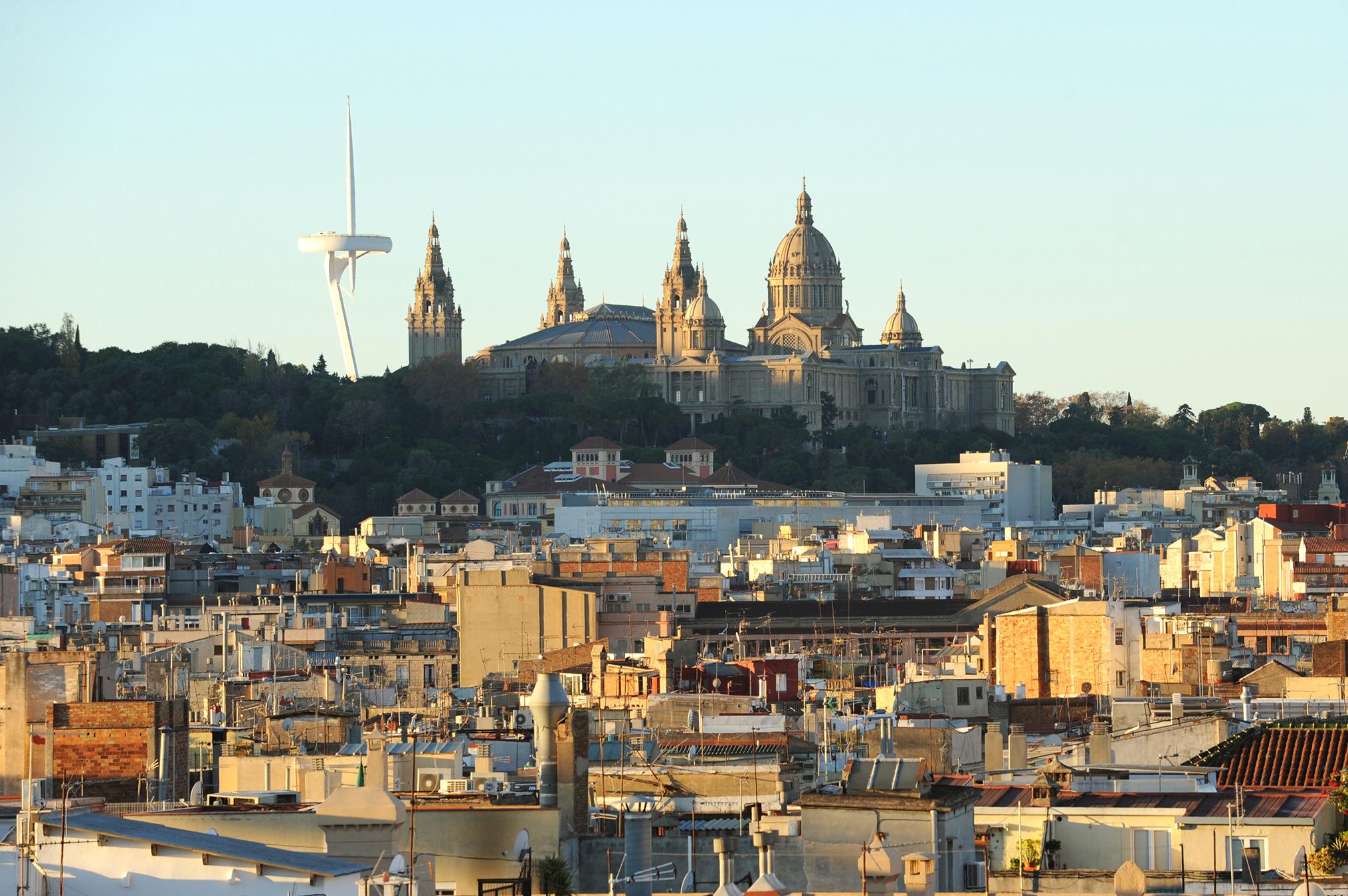 Montjuic, Barcelona, Espanja, matkablogi, matka