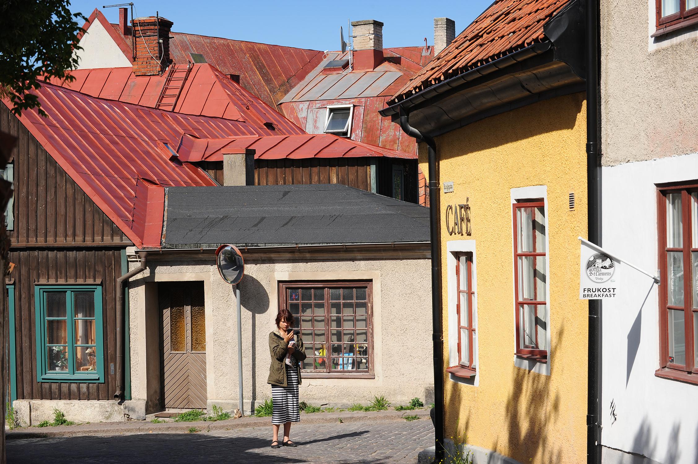 Ruotsi, Visby, matka, loma, kesä, Gotlanti