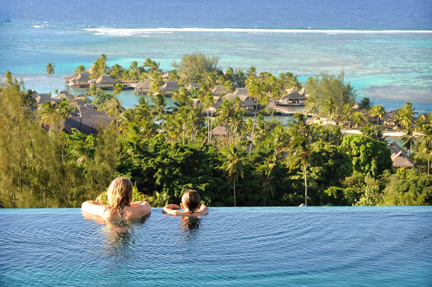 Tahiti, Moorea, Ranskan Polynesia, uima-allas, Tyyni Valtameri