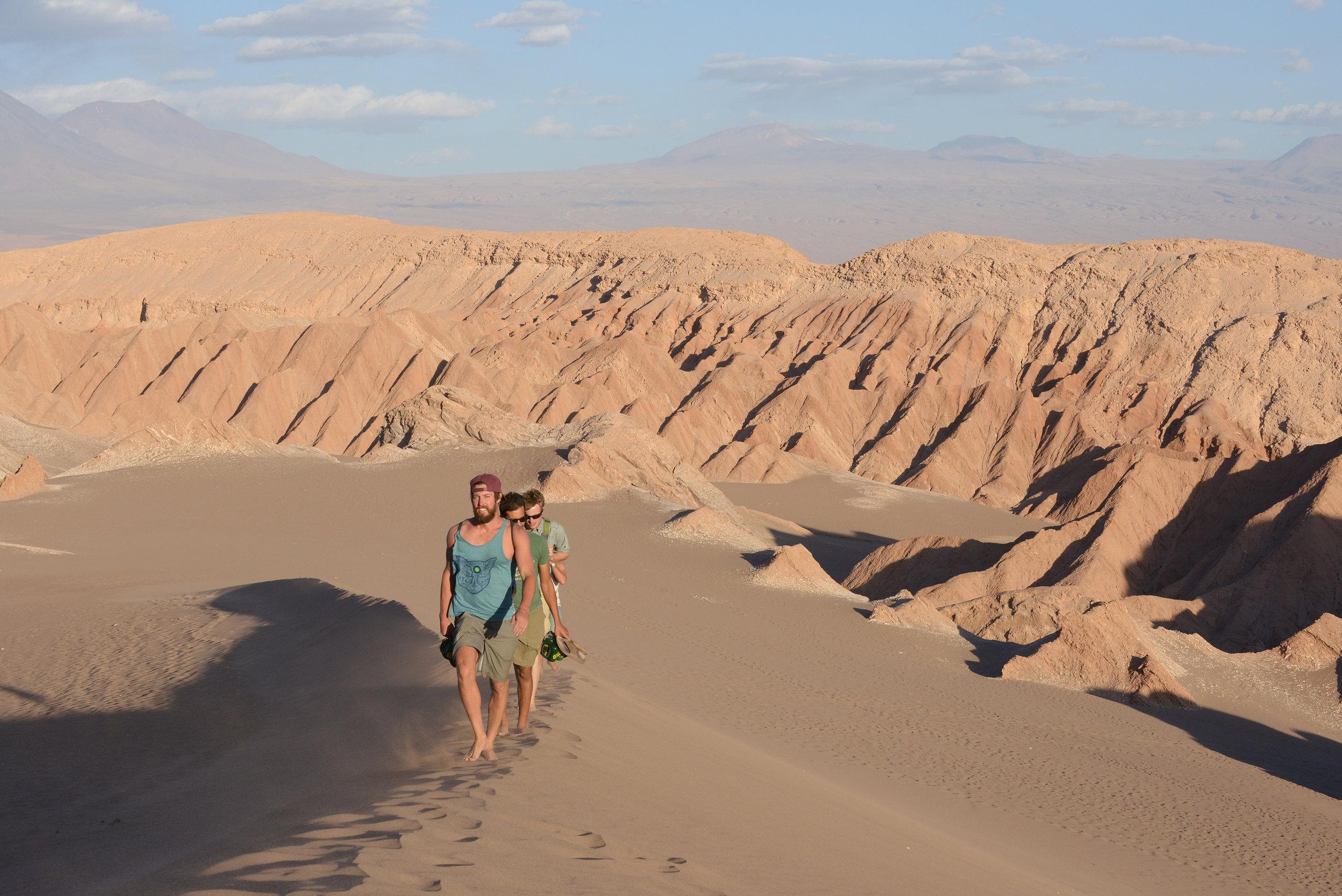 Atacama, Chile, aavikko, hiekkaa, Etelä-Amerikka