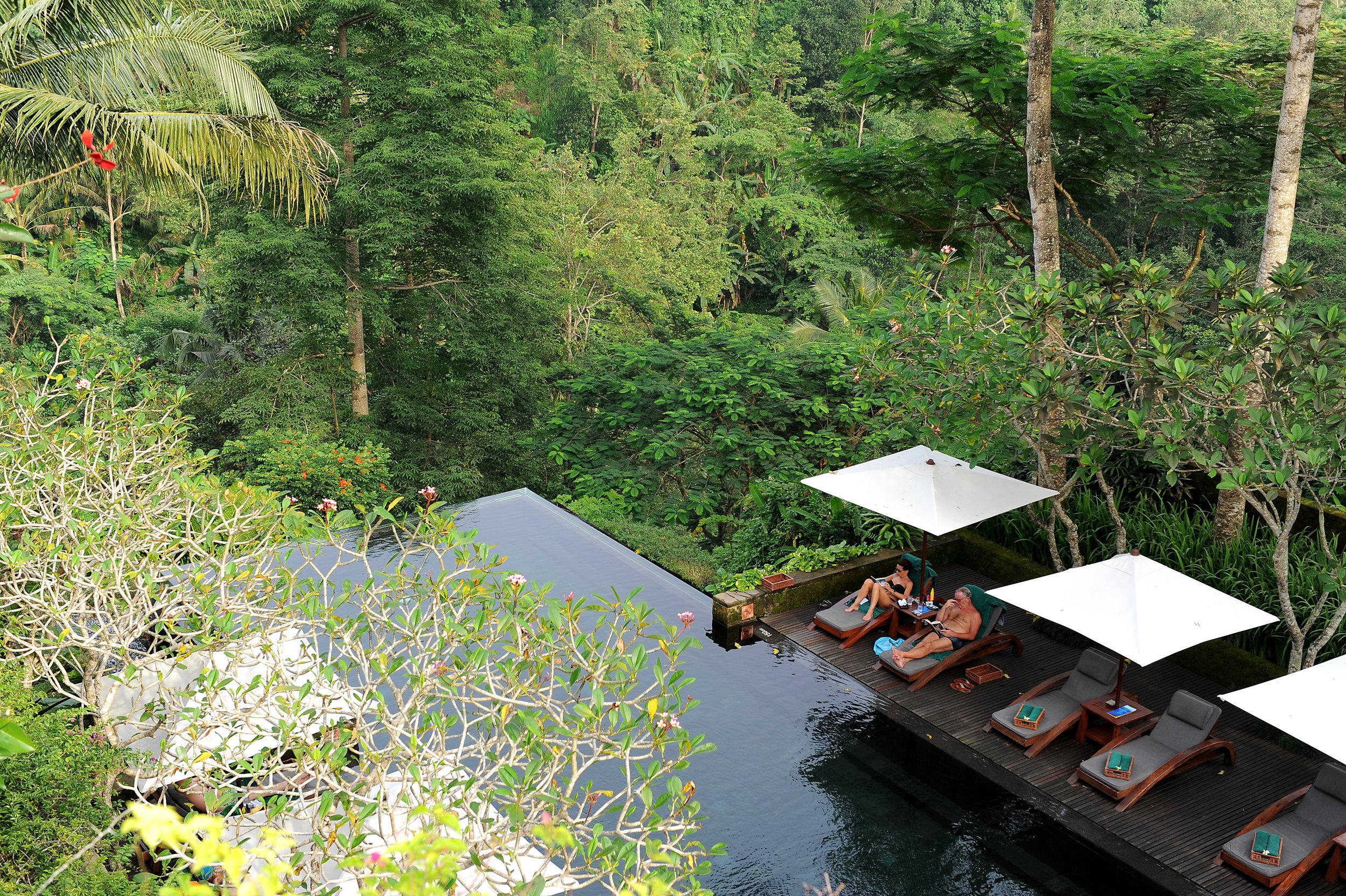 Bali, hotelli, Ubud, Indonesia, Maya Ubud