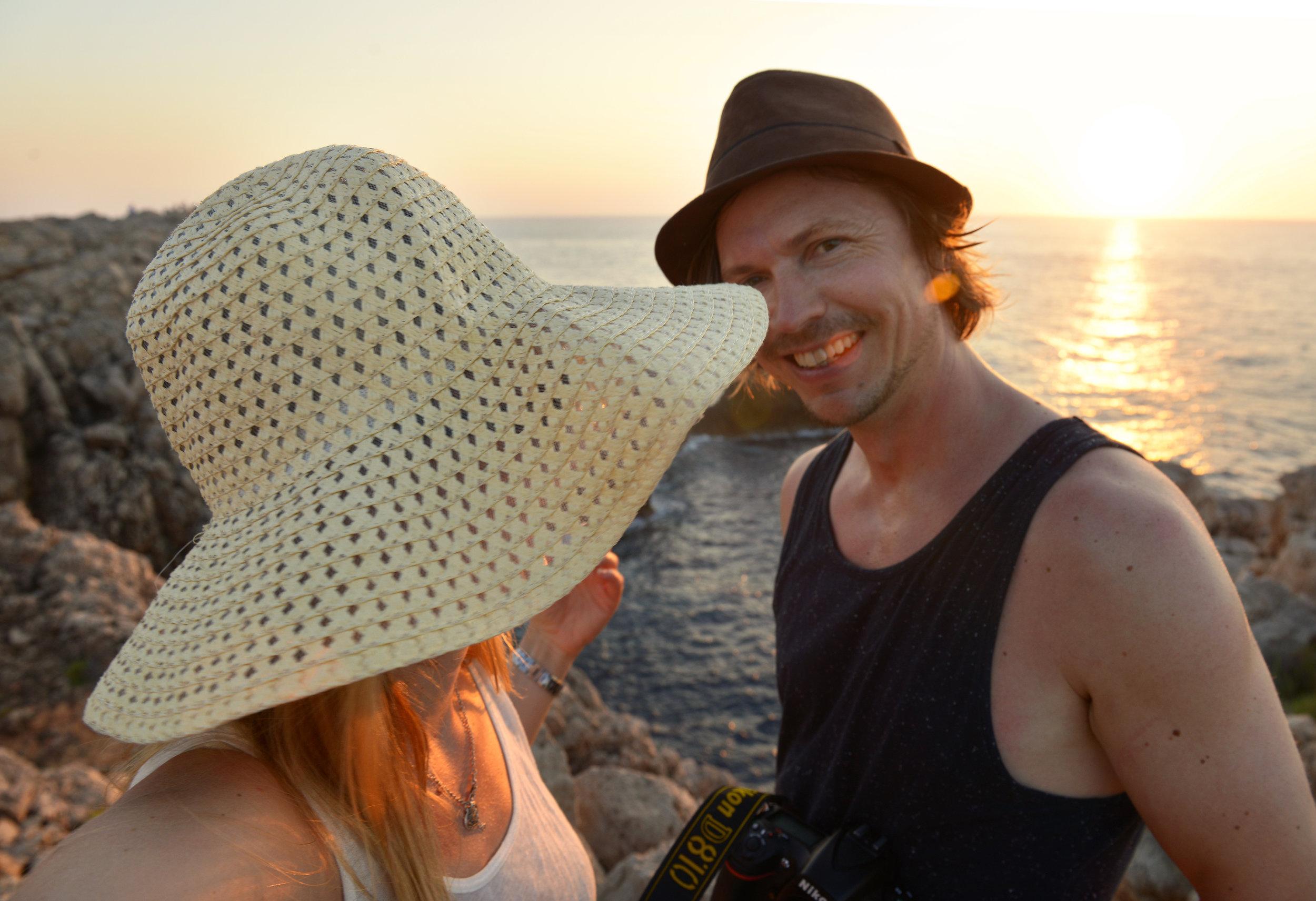 Menorca, Punta Nati, auringonlasku