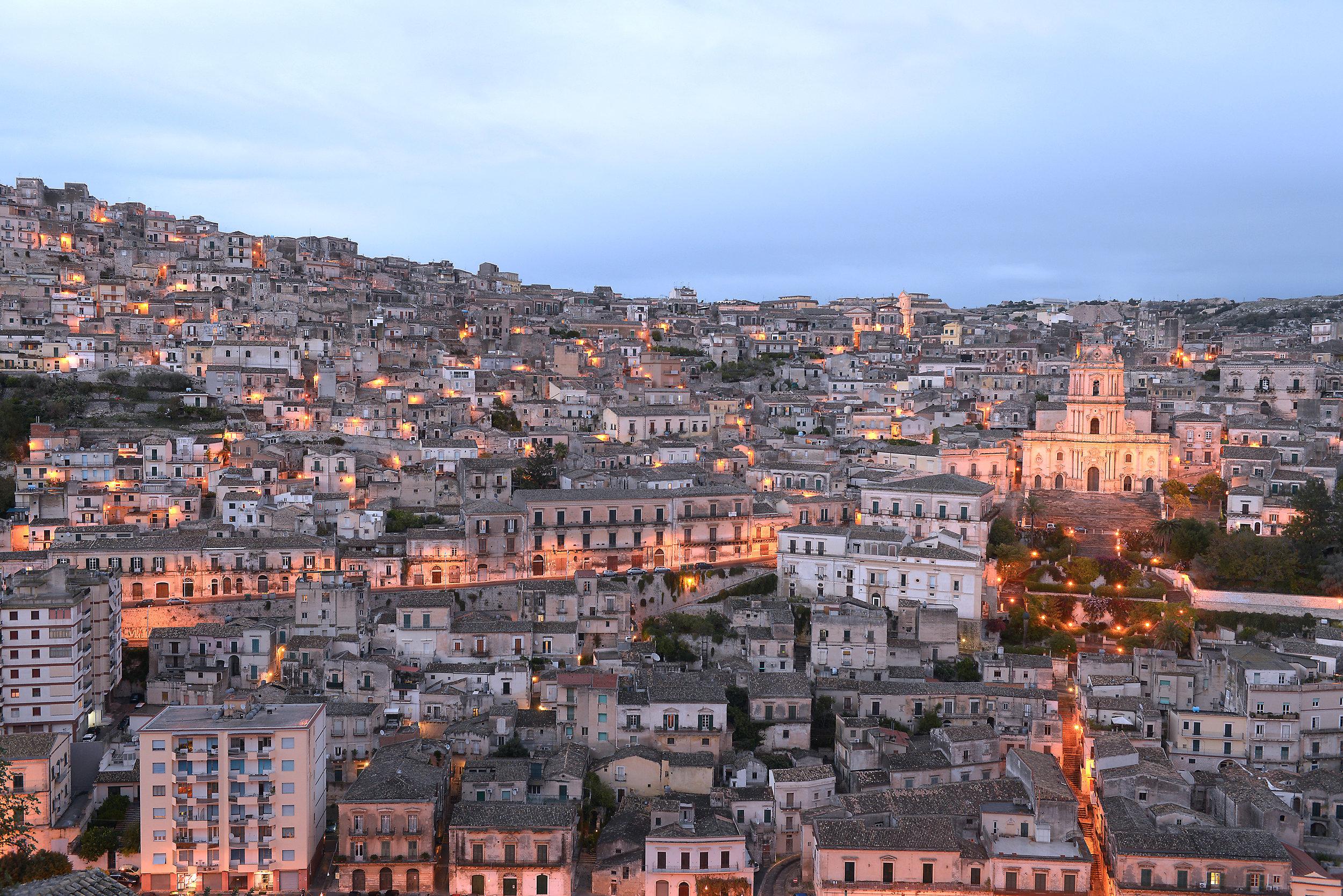 Modica, Sisilia, Italia, matkablogi