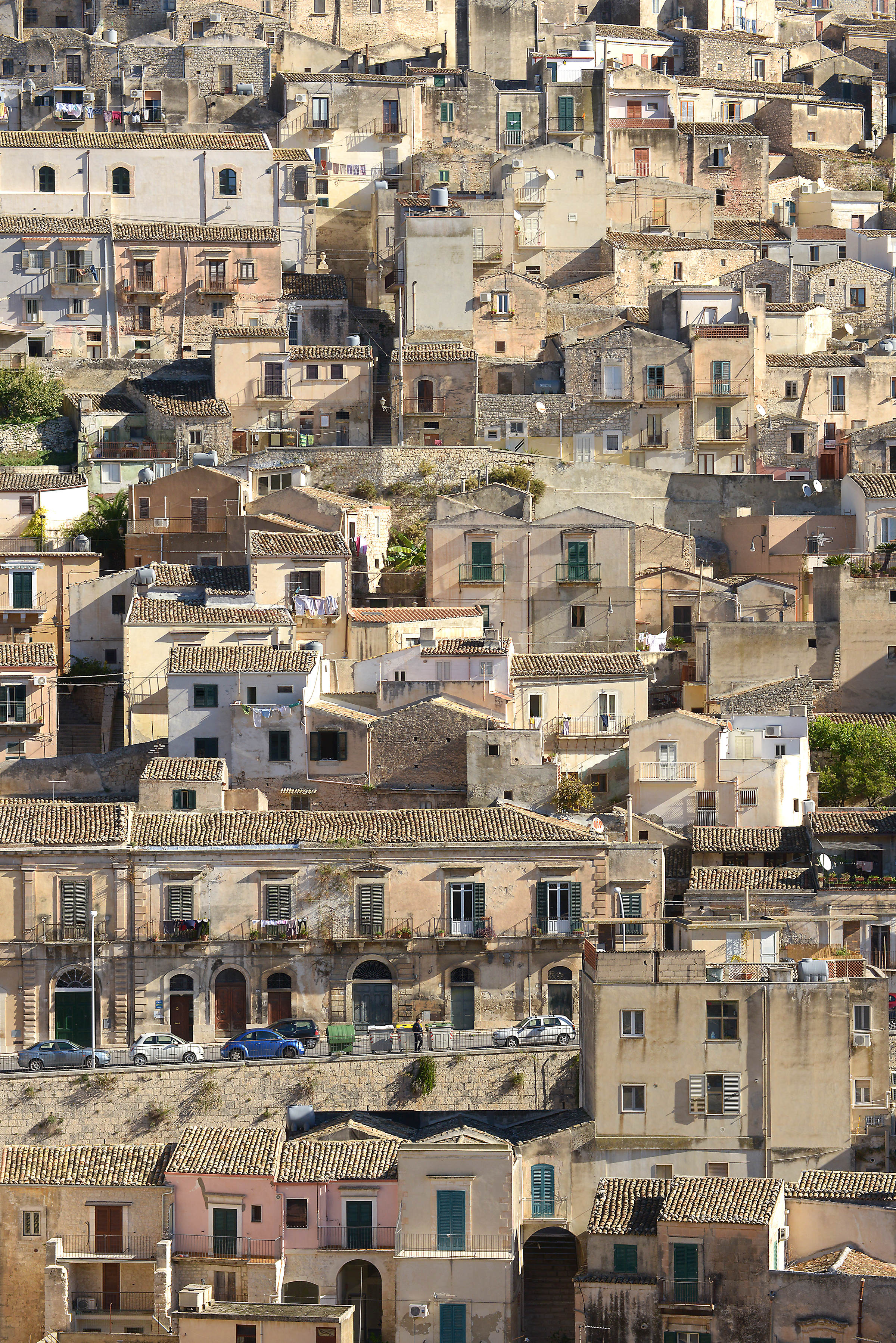 Modica, vanhakaupunki, Sisilia, Italia