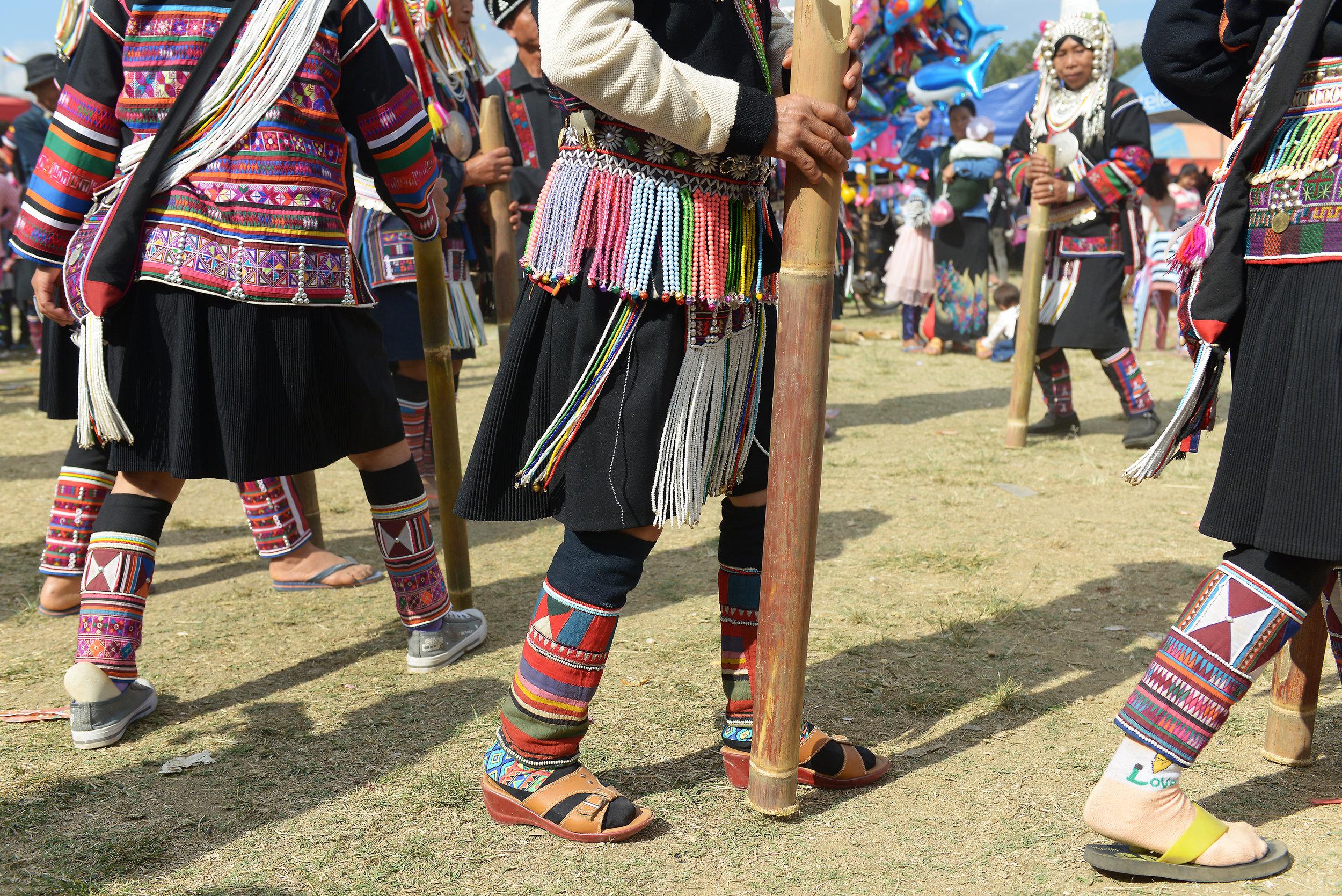 Kentung, Myanmar, Burma, Akaa, heimo