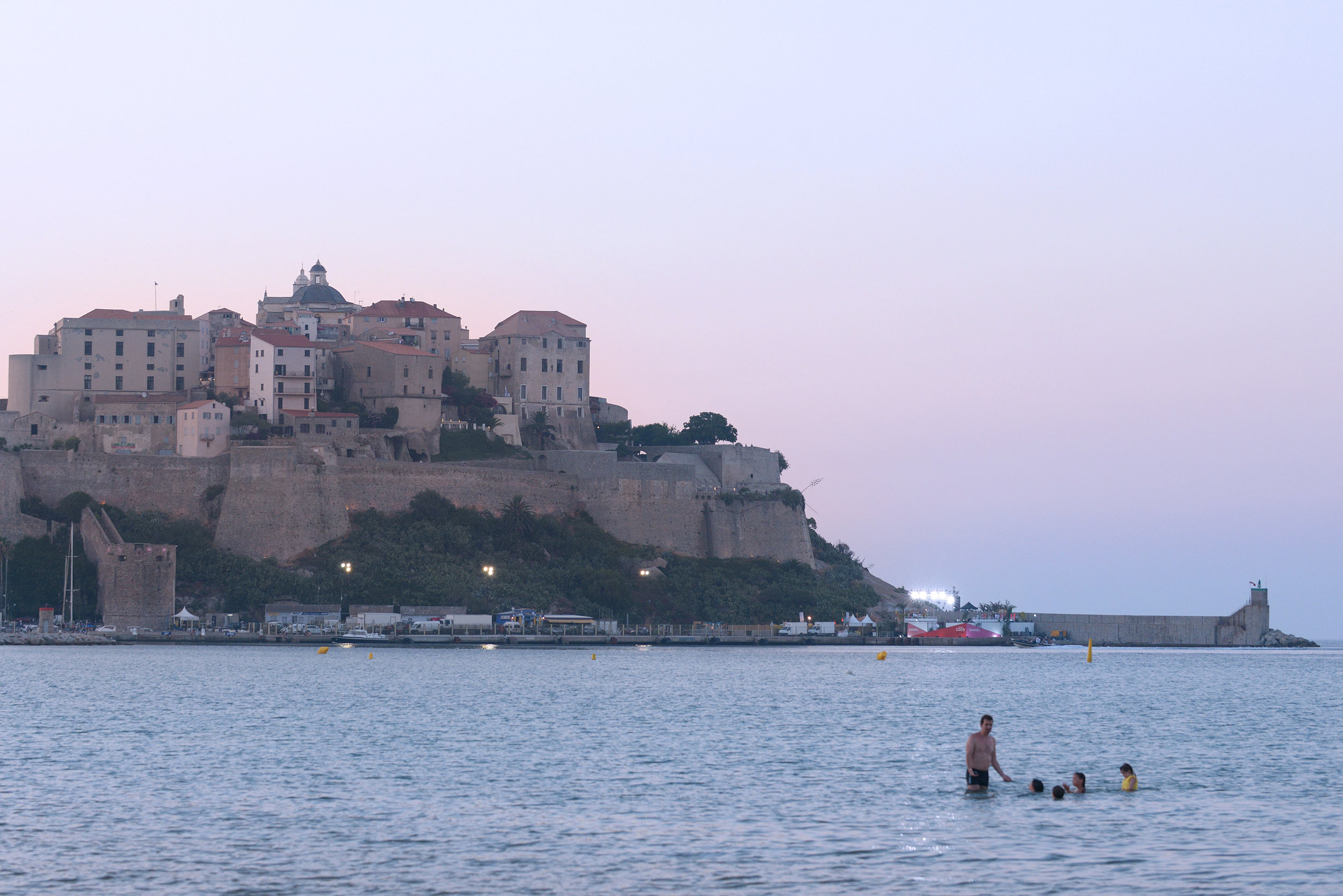 Ranska, Korsika, Calvia, matkablogi