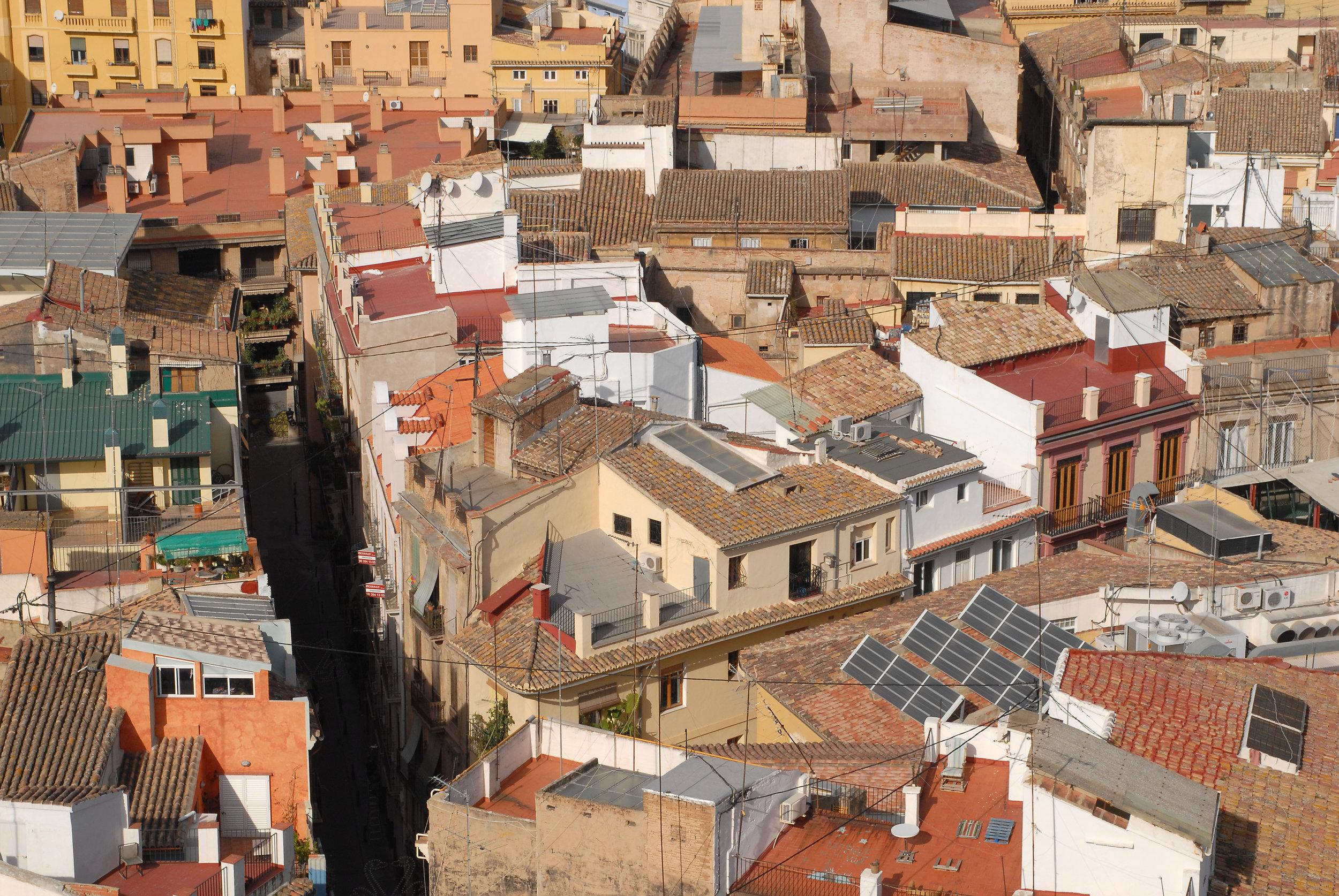 Valencia, vanhakaupunki