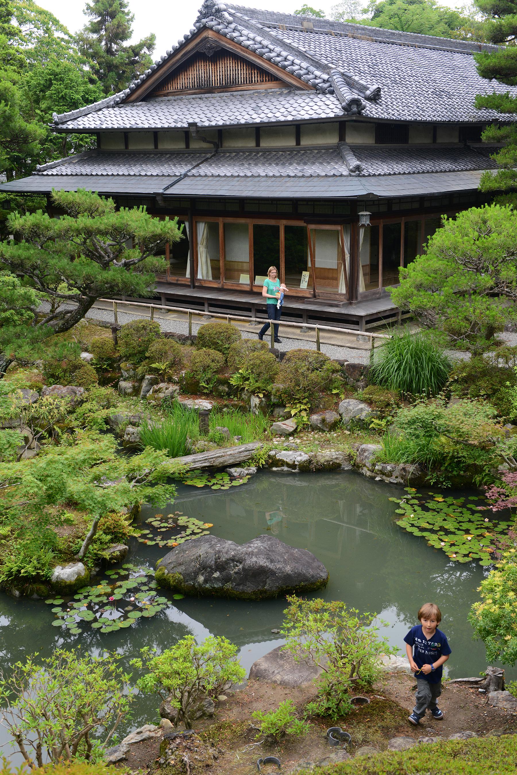 Japani, Nara, Kansai, Isuien Garden, puutarha
