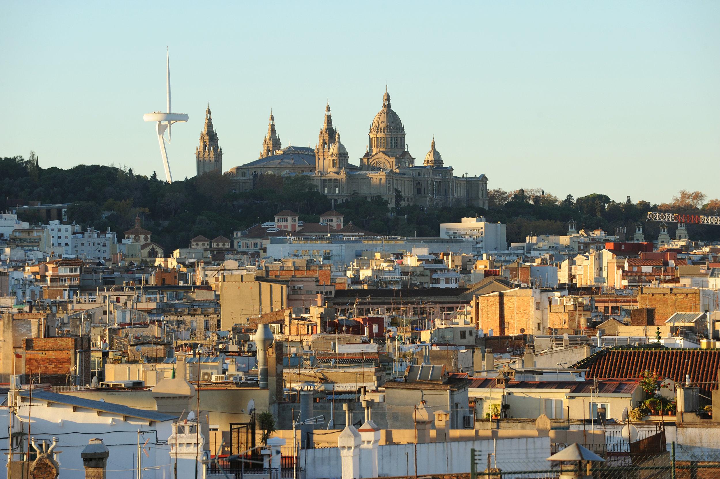 Barcelona, Espanja, Katalonia, matka