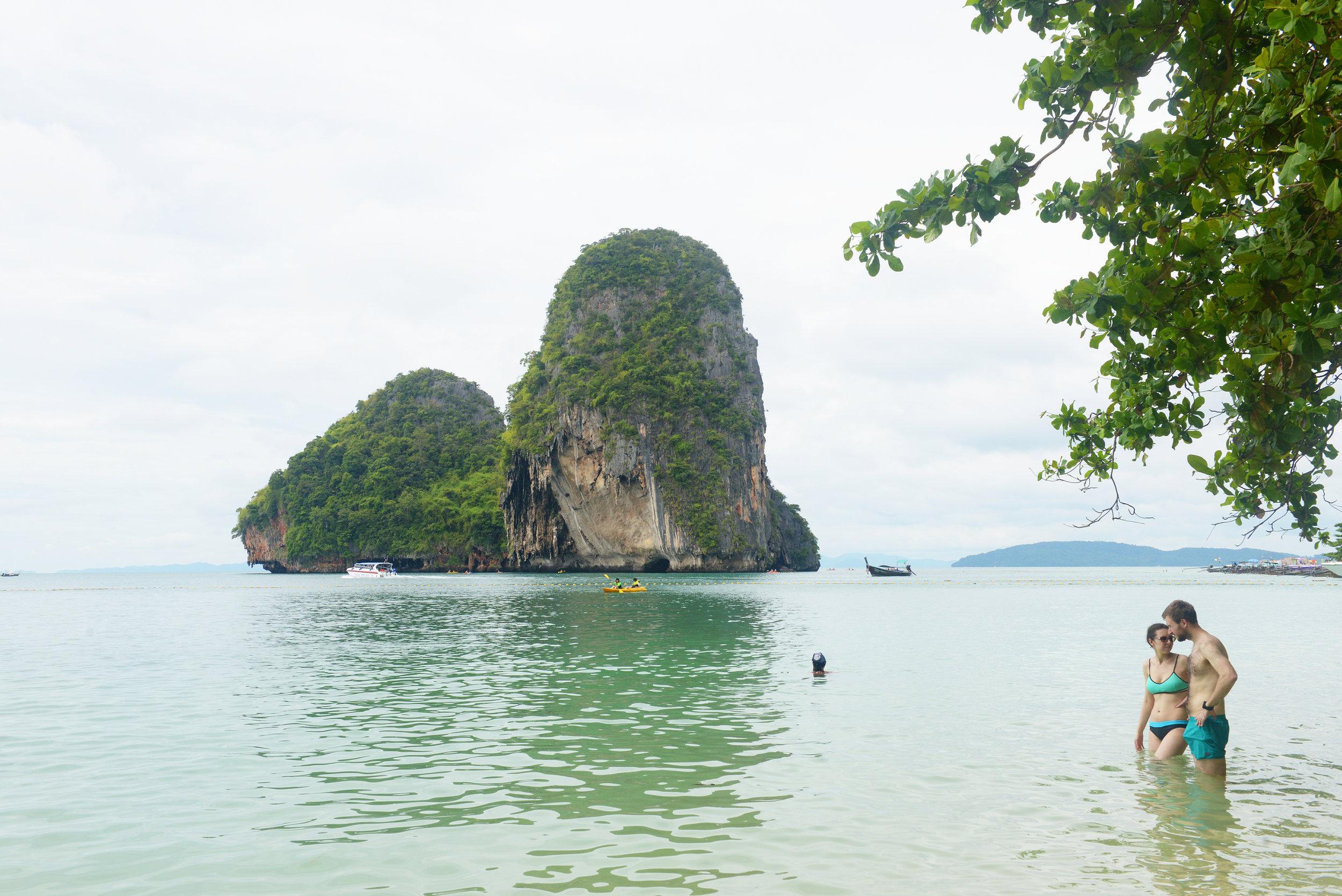 Krabi, Thaimaa, ranta
