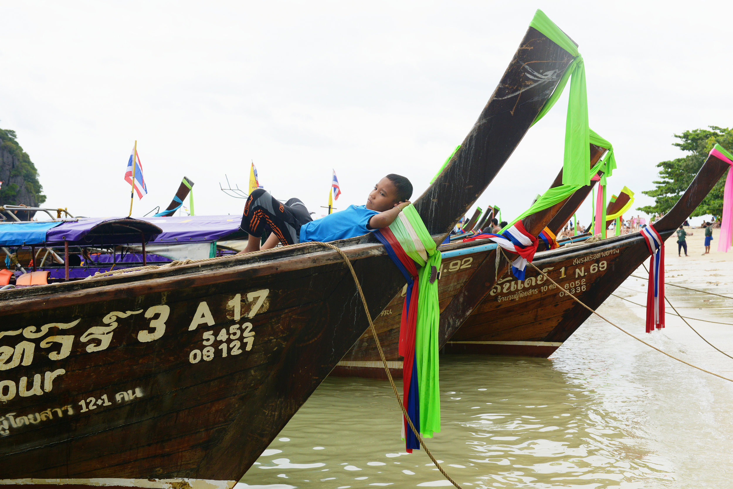 Thaimaa, vene, Krabi