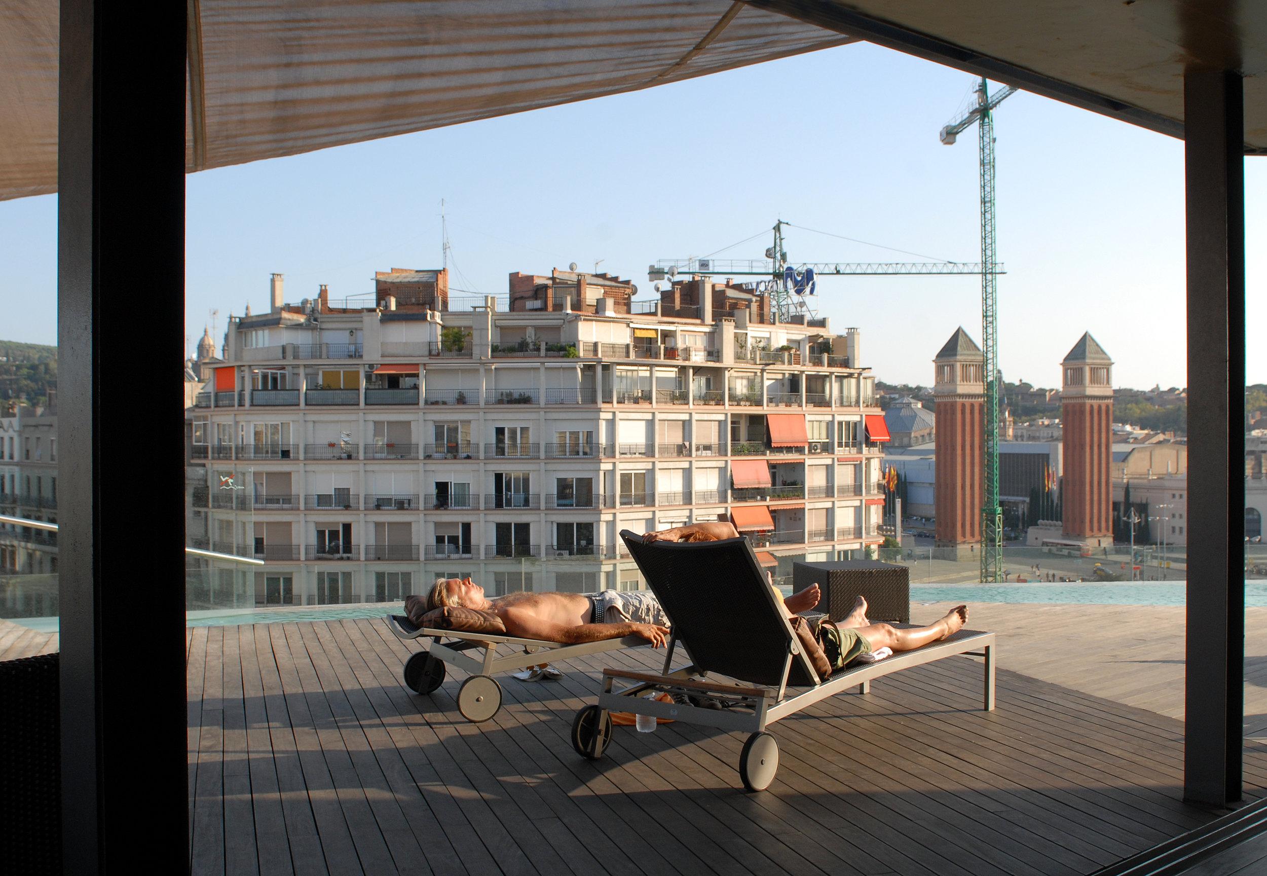hotelli, Barcelona, Espanja