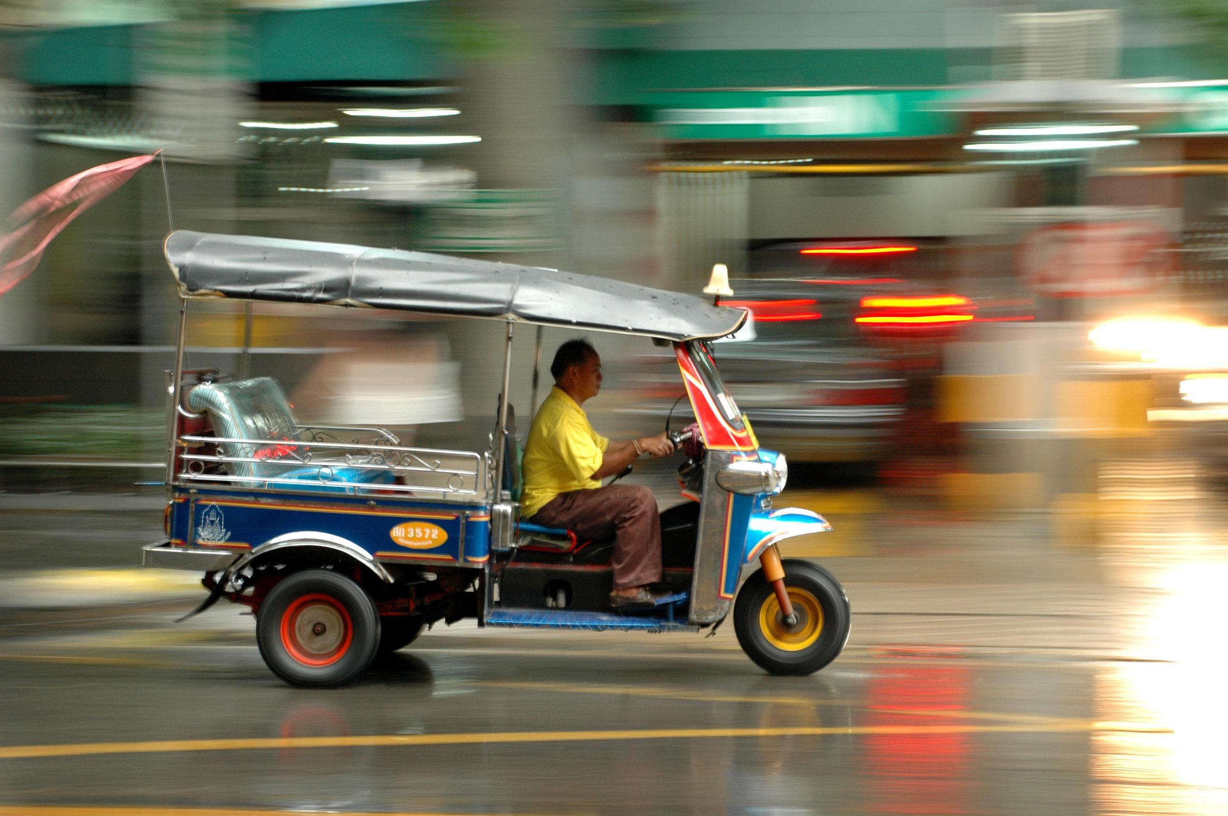 tuktuk, Bangkok, Thaimaa