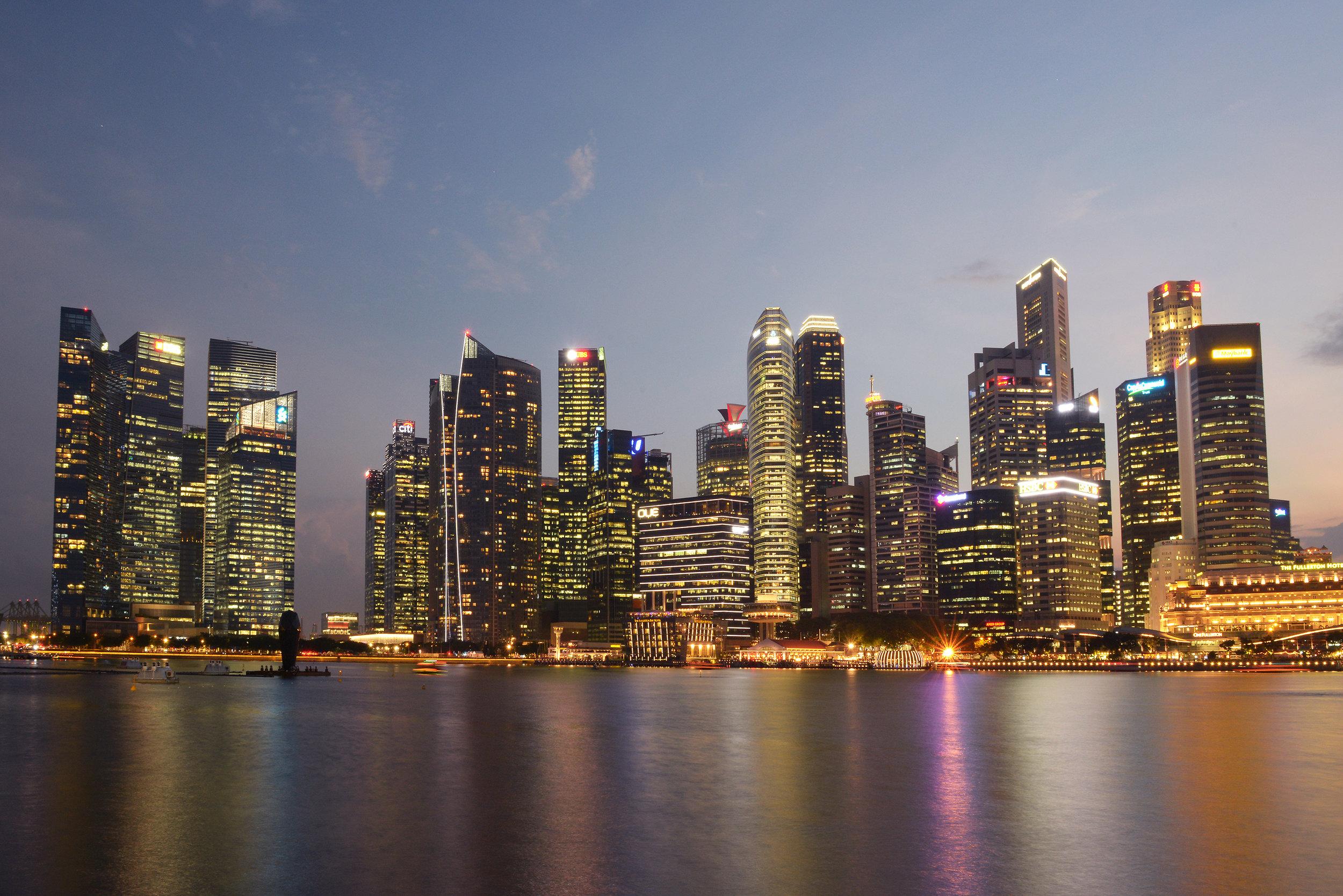 Singapore, bisneskaupunginosa, CBD