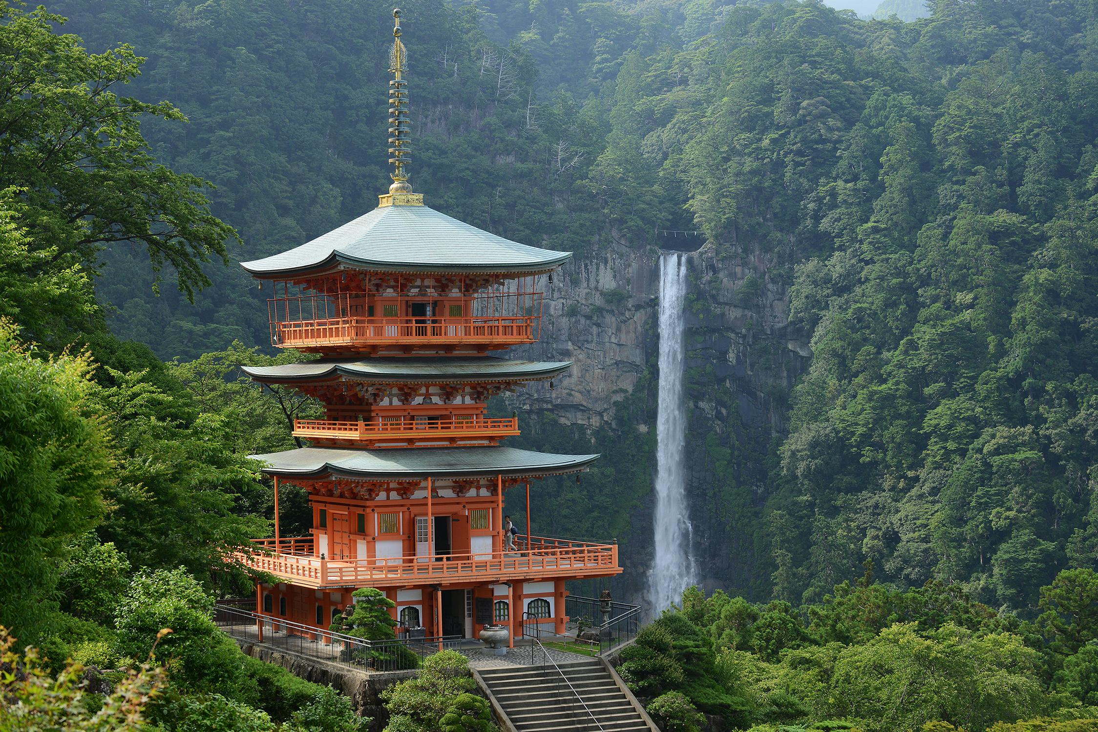 Japani, Wakayama, Nachi, vesiputous