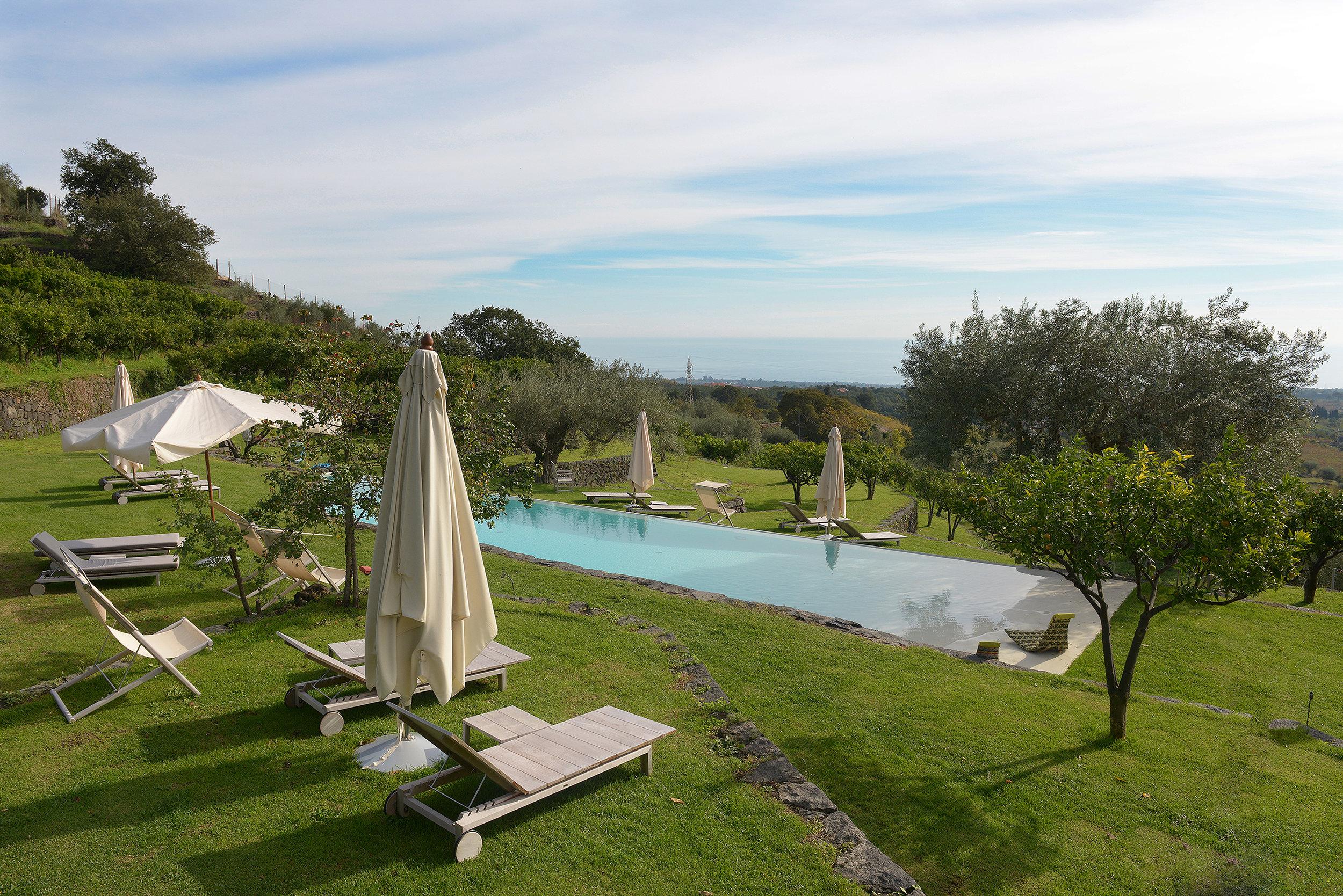 Italia, Sisilia, Monaci delle Terre Nere, viinitila, maaseutuhotelli, agriturismo