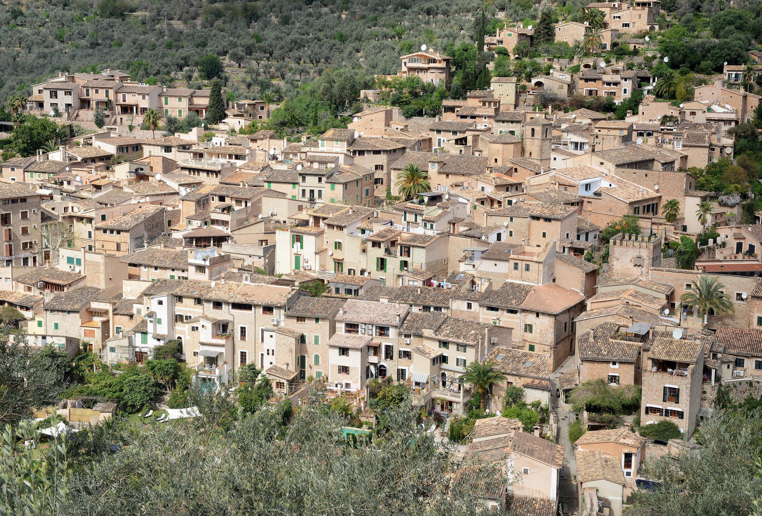 Fornalux, Mallorca, Espanja, kylä