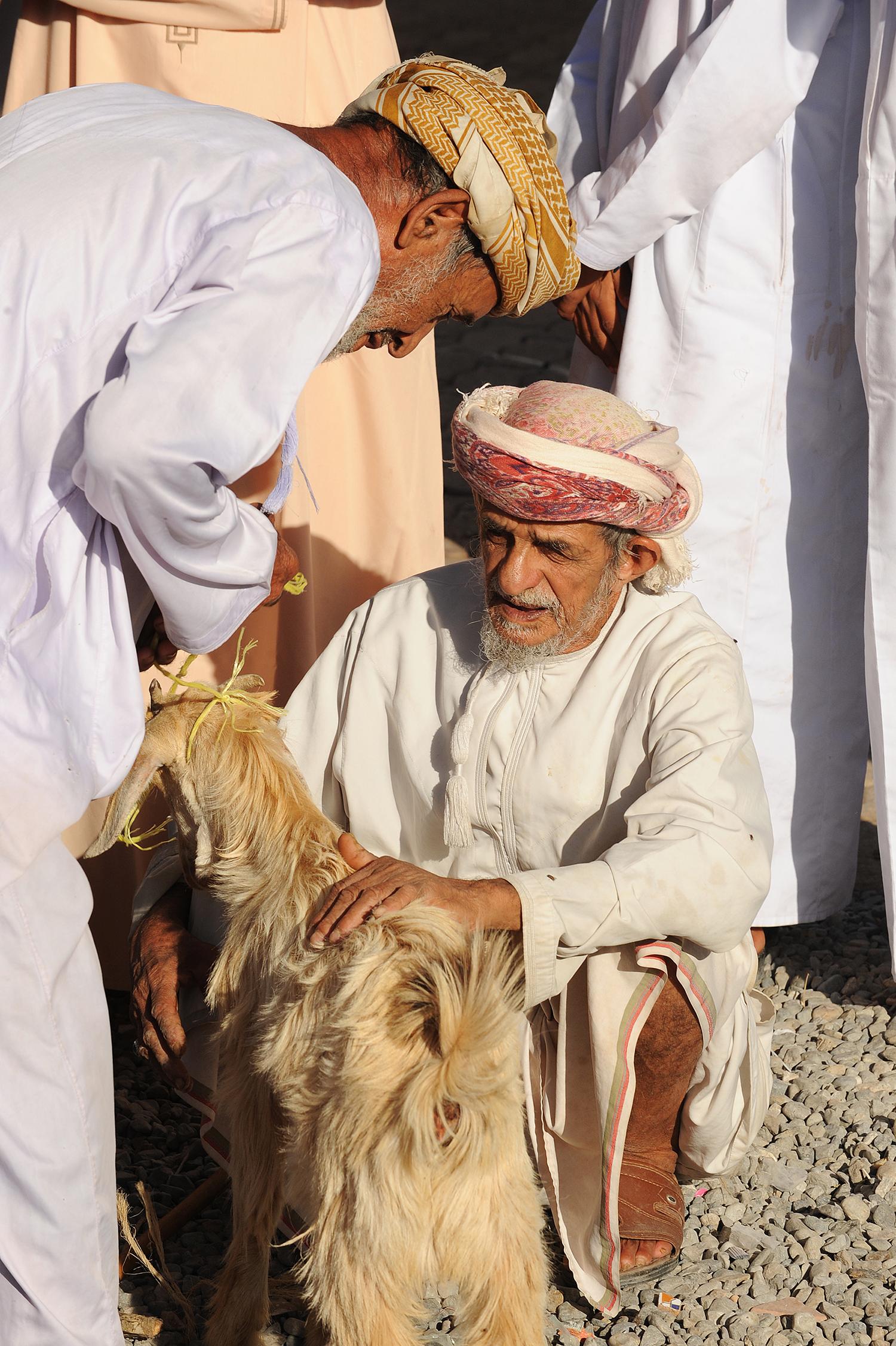 Oman, Nizwa, karjamarkkinat