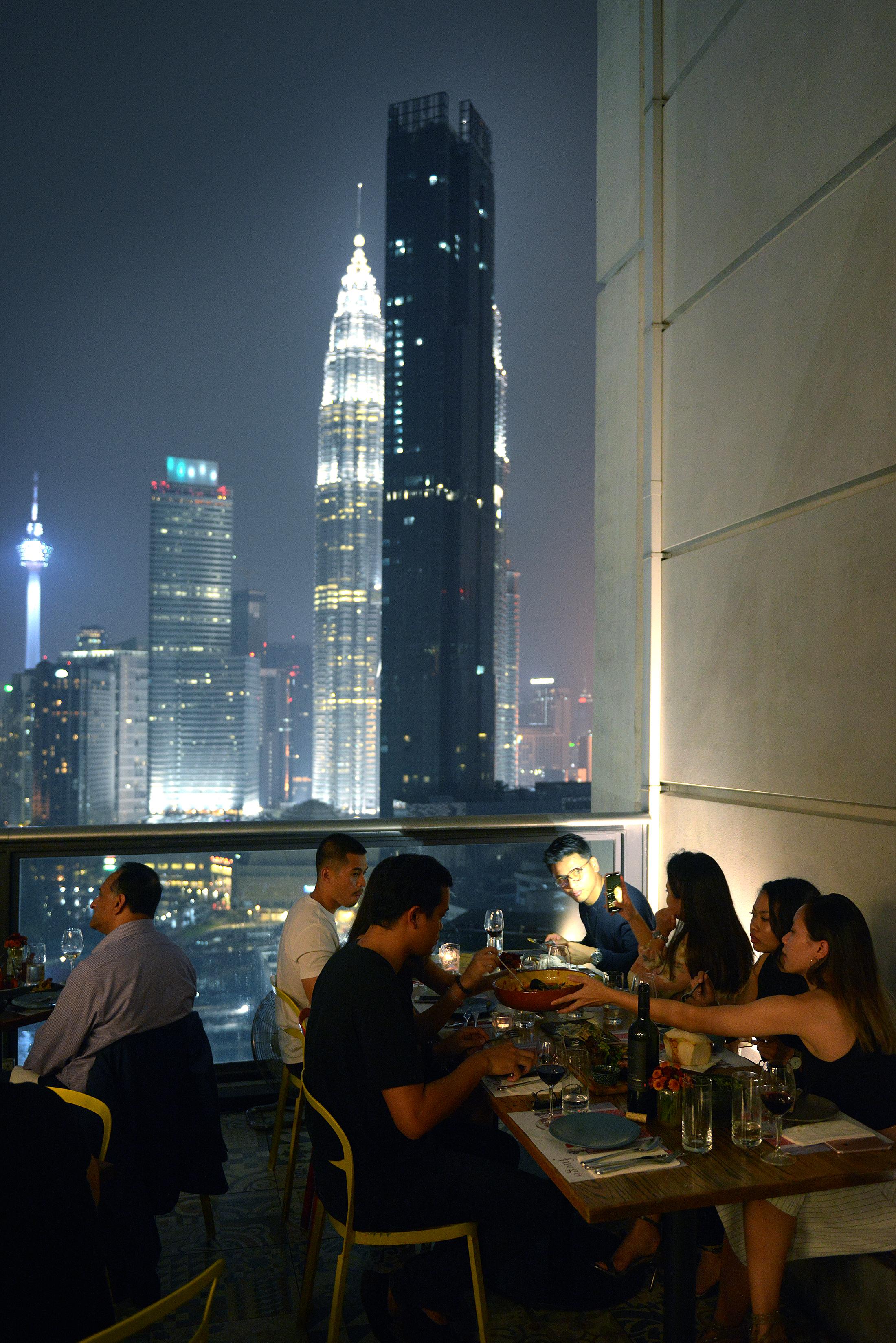 Kuala Lumpur, ravintola