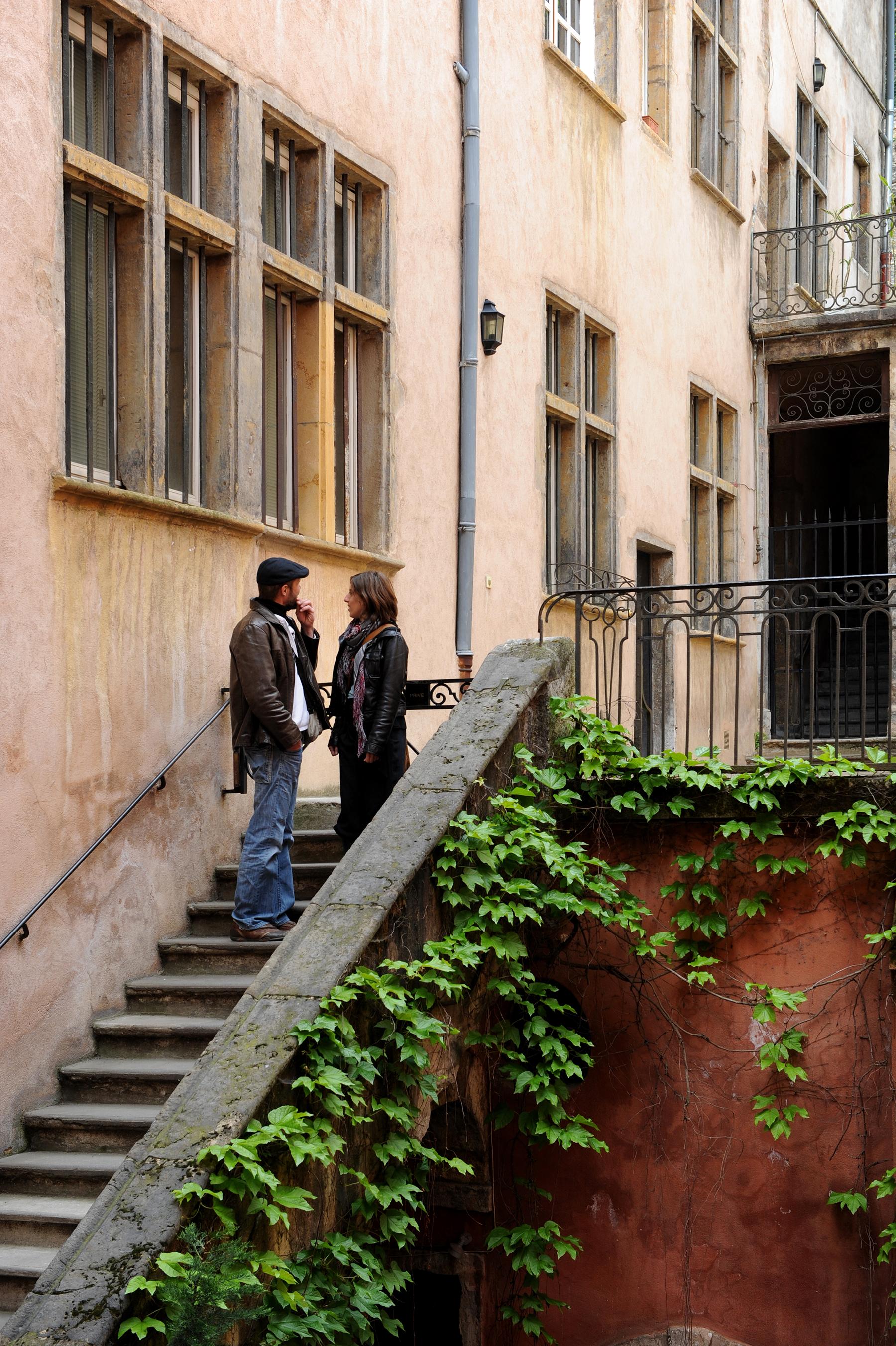 Lyon, Ranska, vanhakaupunki