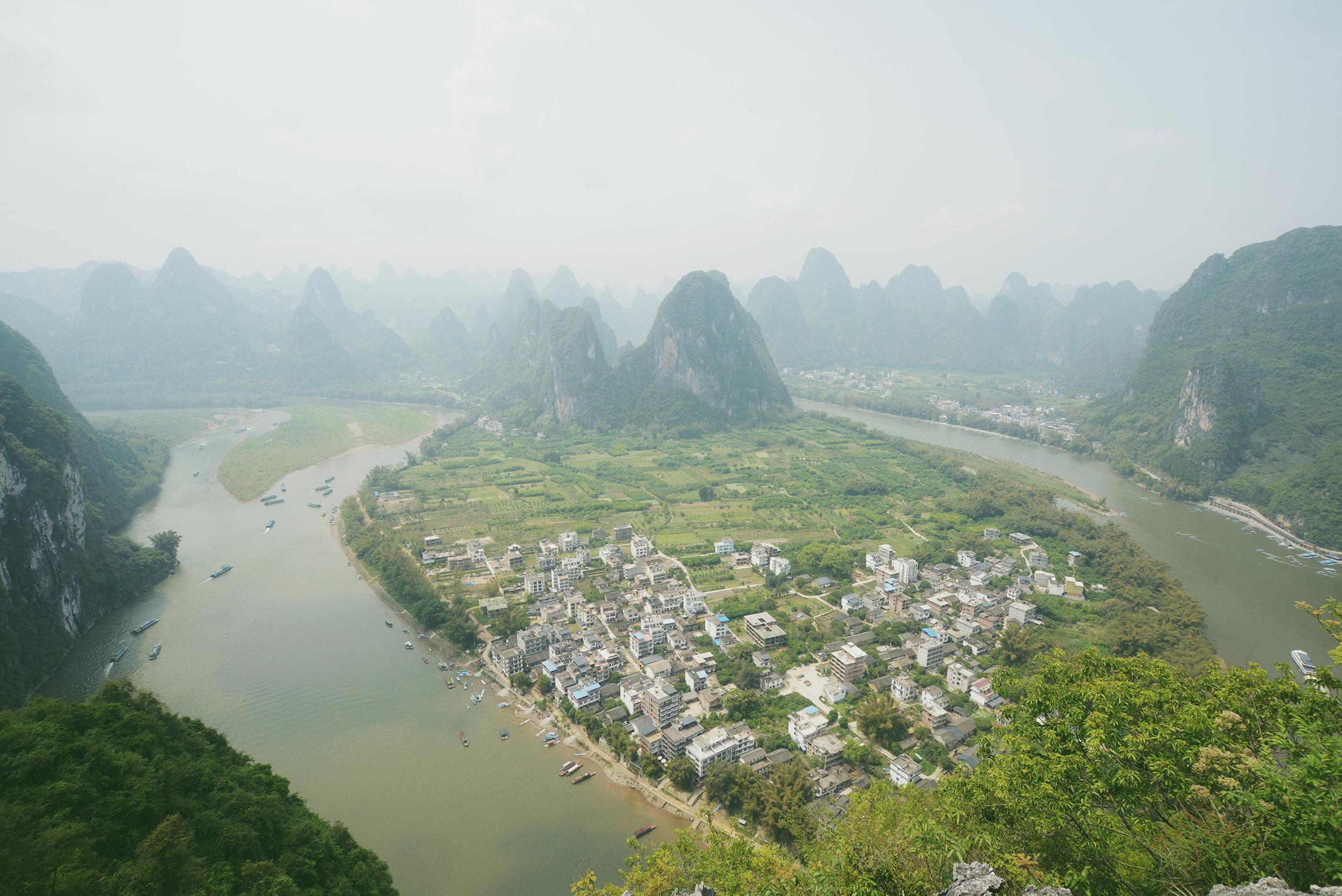 Kiina, Li-joki, Xingping