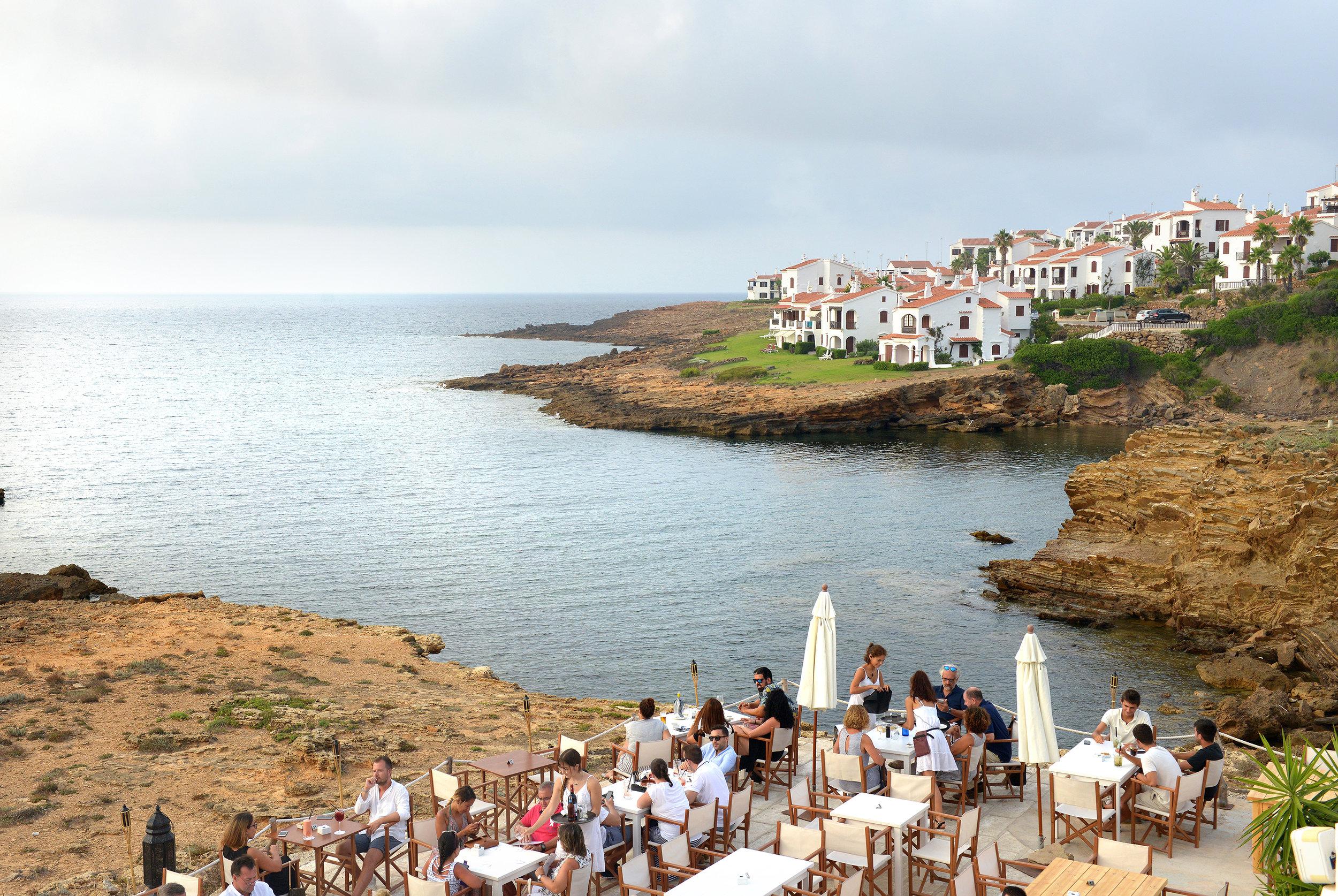Menorca, Espanja, Baleaarit, Isabella Beach Club, Fornells