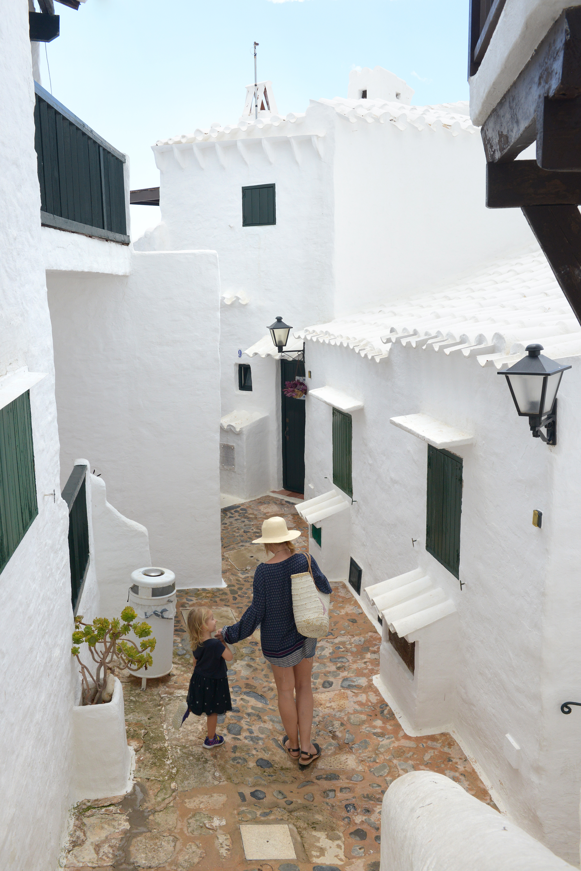 Menorca, Espanja, Baleaarit, Binibeca Vell