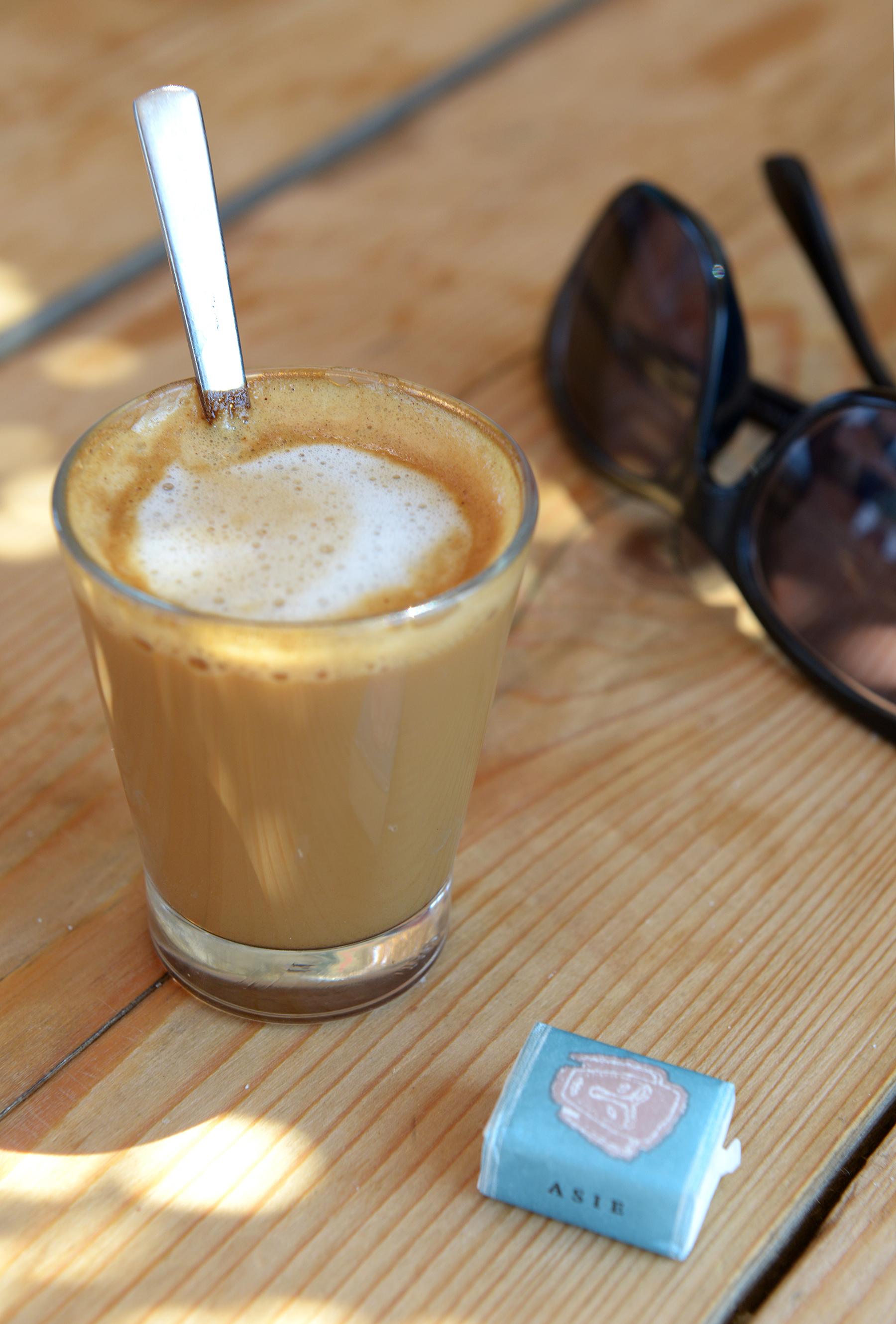 Korsika, Ranska, kahvila