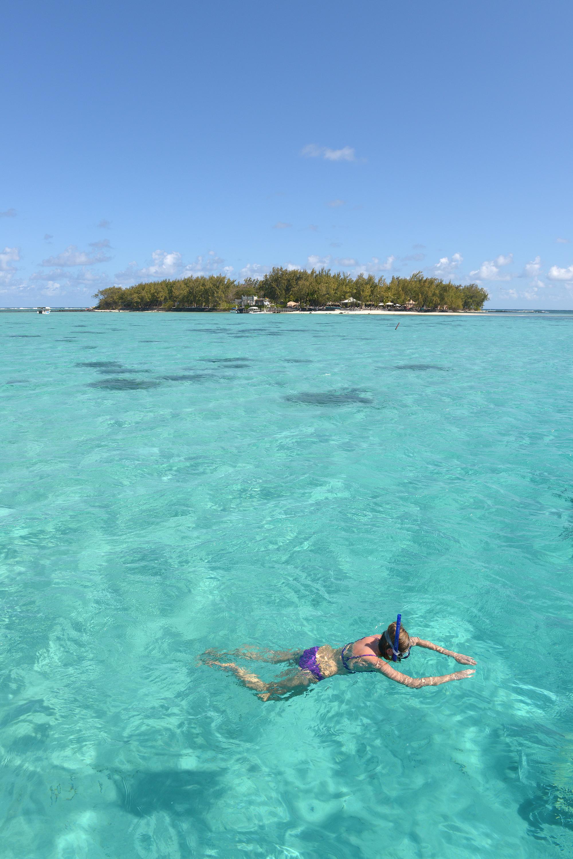 Mauritius, snorklaus, meri