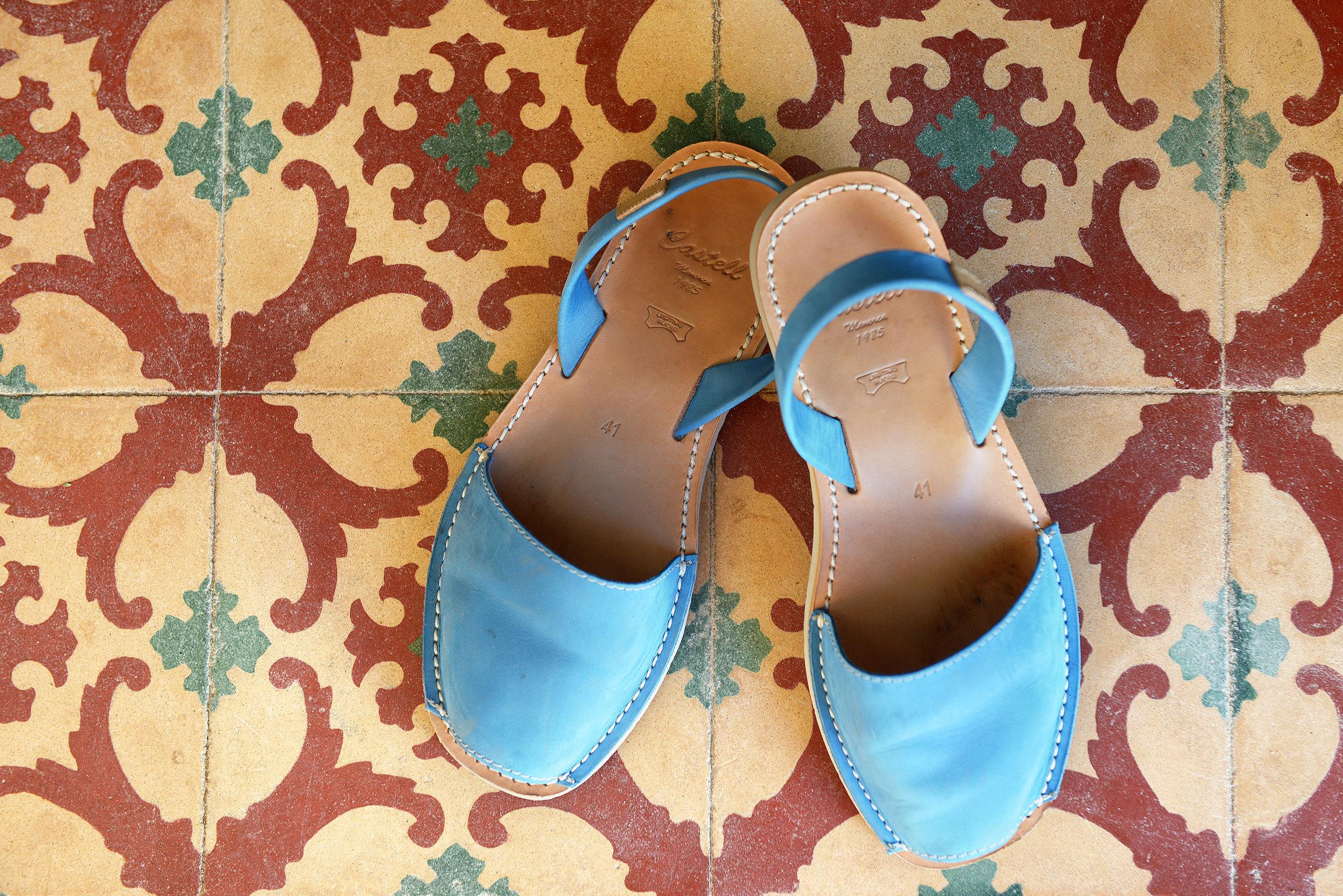 Menorca, avarca, sandaalit, kengät