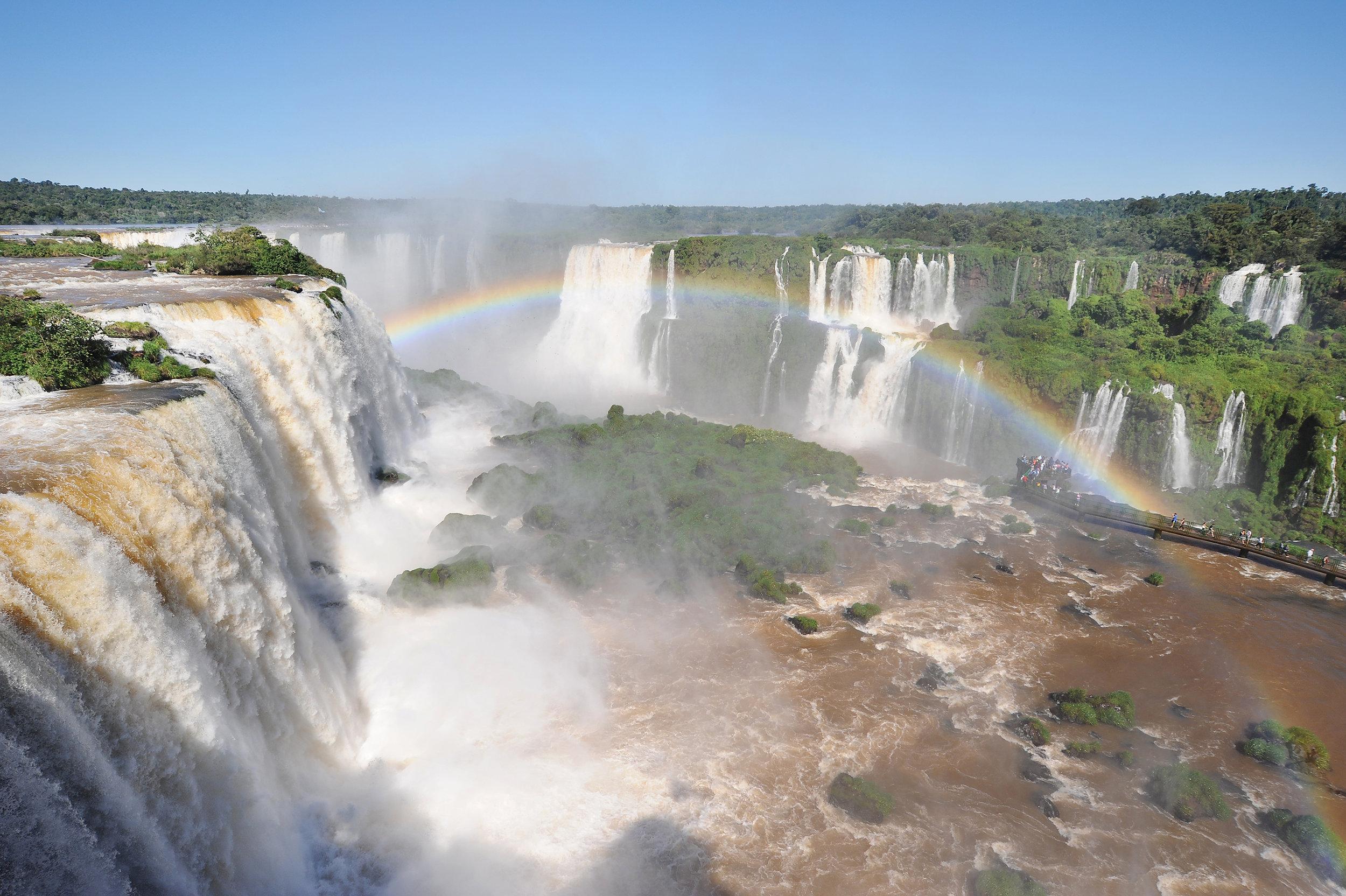 Brasilia, Argentiina, Iguazu, Iguassu
