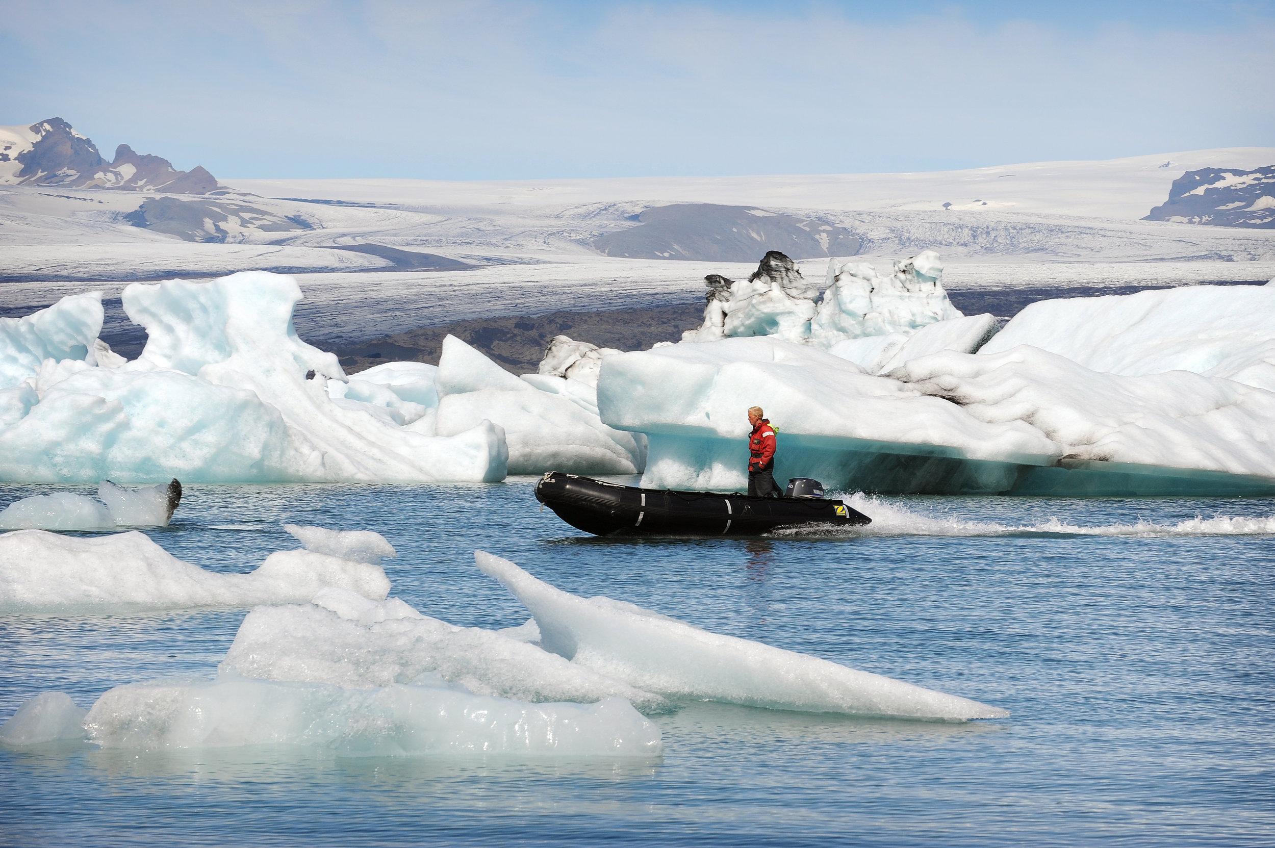 Islanti, Jökulsárlón, jäälaguuni