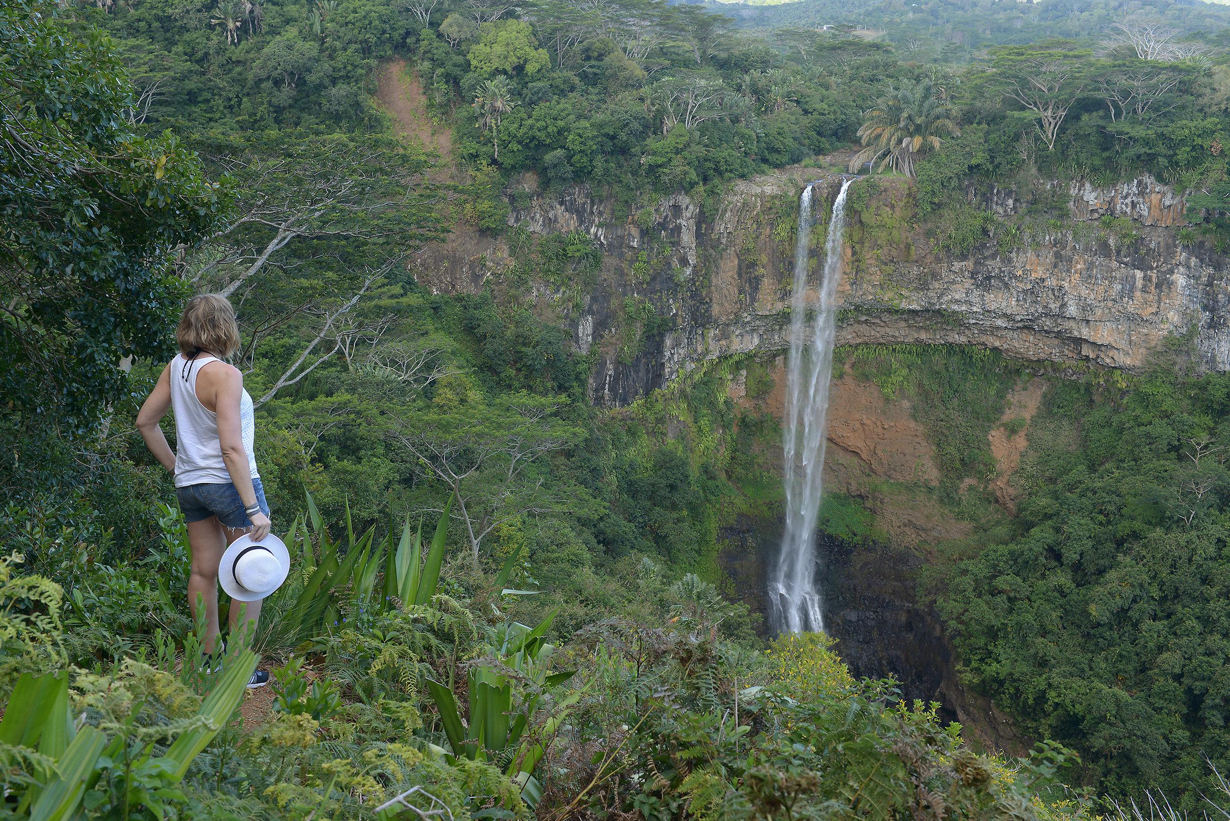 Mauritius, Chamarel-vesiputous