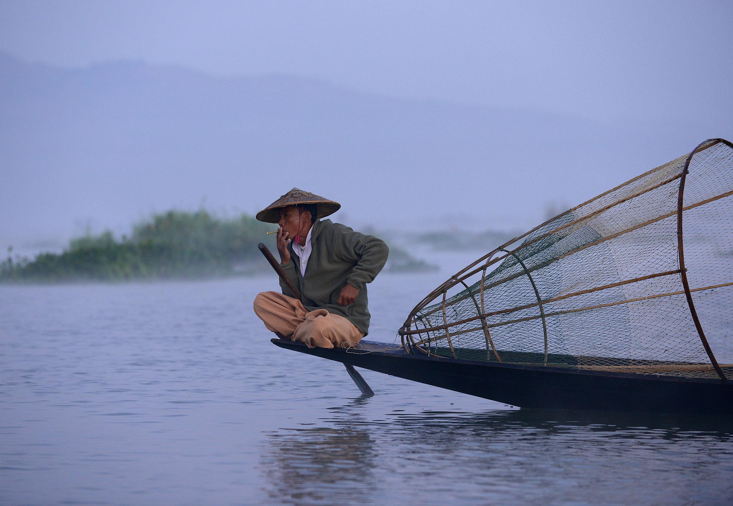 Kalastaja, Myanmar, Burma