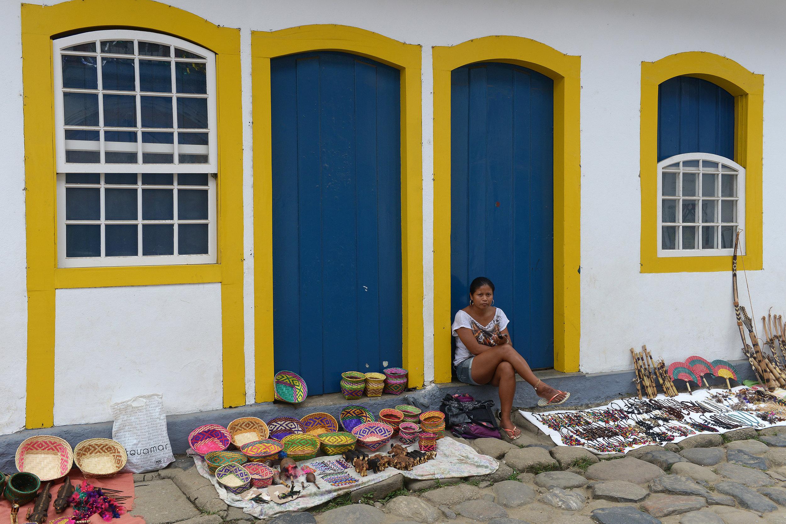 Brasilia, Paraty, matkamuistoja