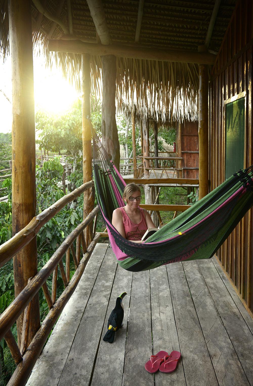 Amazon, Brasilia. Joulun voi viettää reissussa vaikka riippukeinussa.