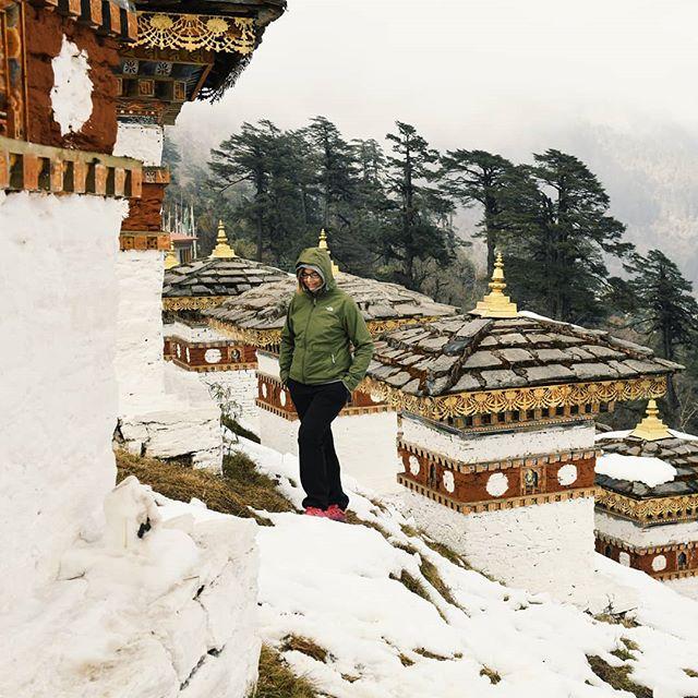 Bhutanissa ilahdutti monikin asia - kuten se, että ensilumen satamista juhlistetaan aina kansallisella vapaapäivällä! 😍🌨❄ #bhutan  #talvi #lumi #lomalla #mondolöytö #matkablogi #maisema #hyväfiilis #bhutandiaries #bhutantravel #travelingtheworld #passionpassport #exploringtheglobe #beautifuldestinations