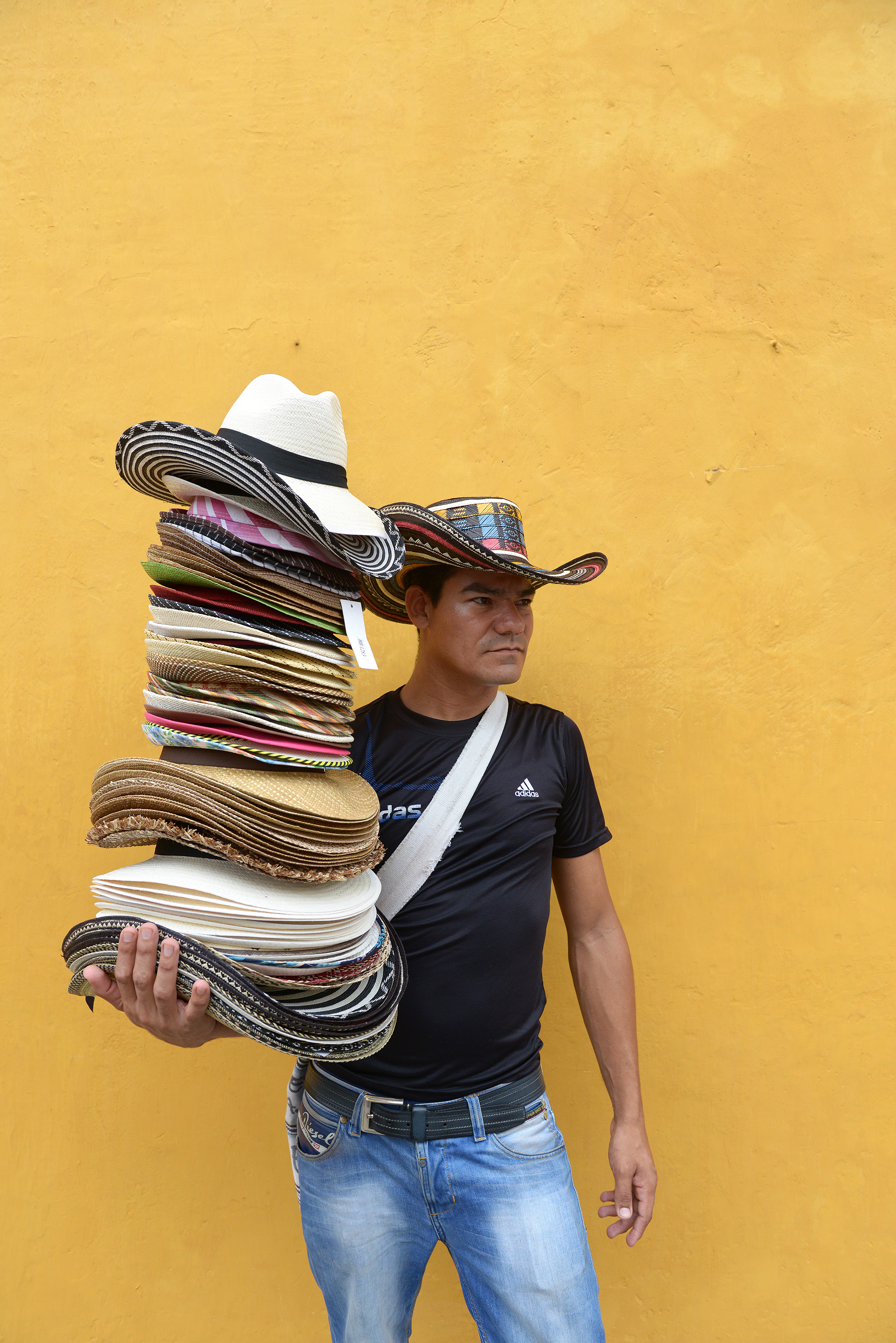Cartagena, Kolumbia, Cartagena de Indias, hattukauppias